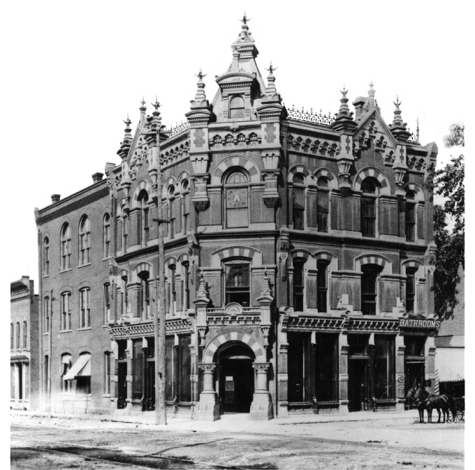 U.S. Post Office/Beal Block c.1887 image