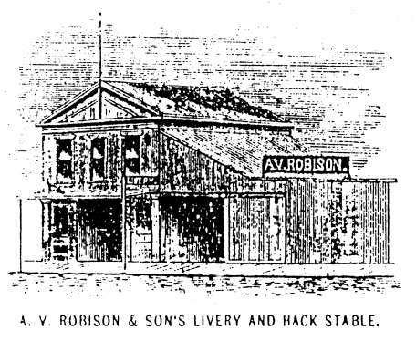 A.V. Robison & Son's Livery and Hack Stable image