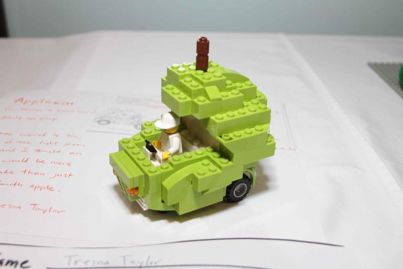 Apple Car, Best Vehicle Adult, 2011 LEGO Contest image