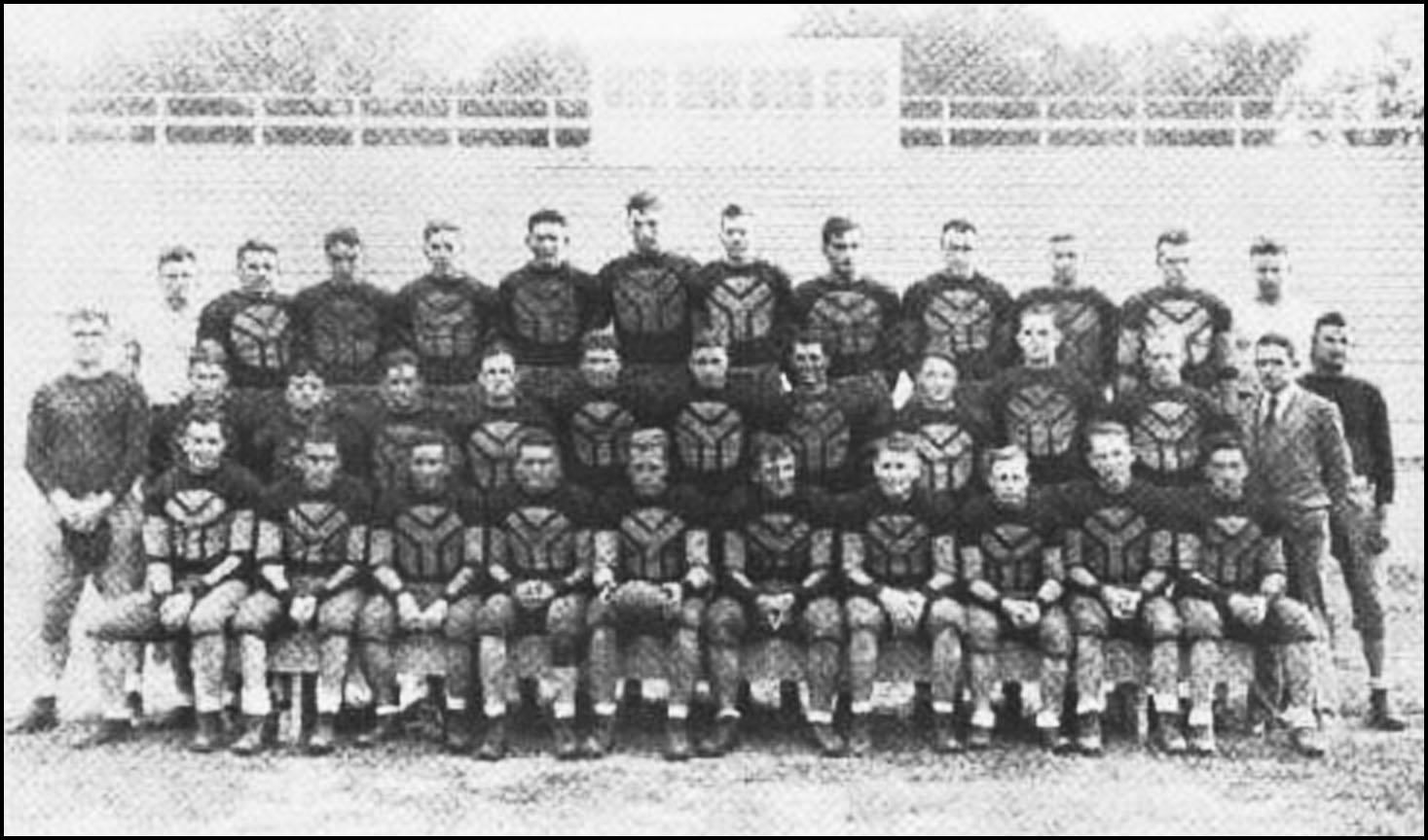 The 1930 Normal School football team image
