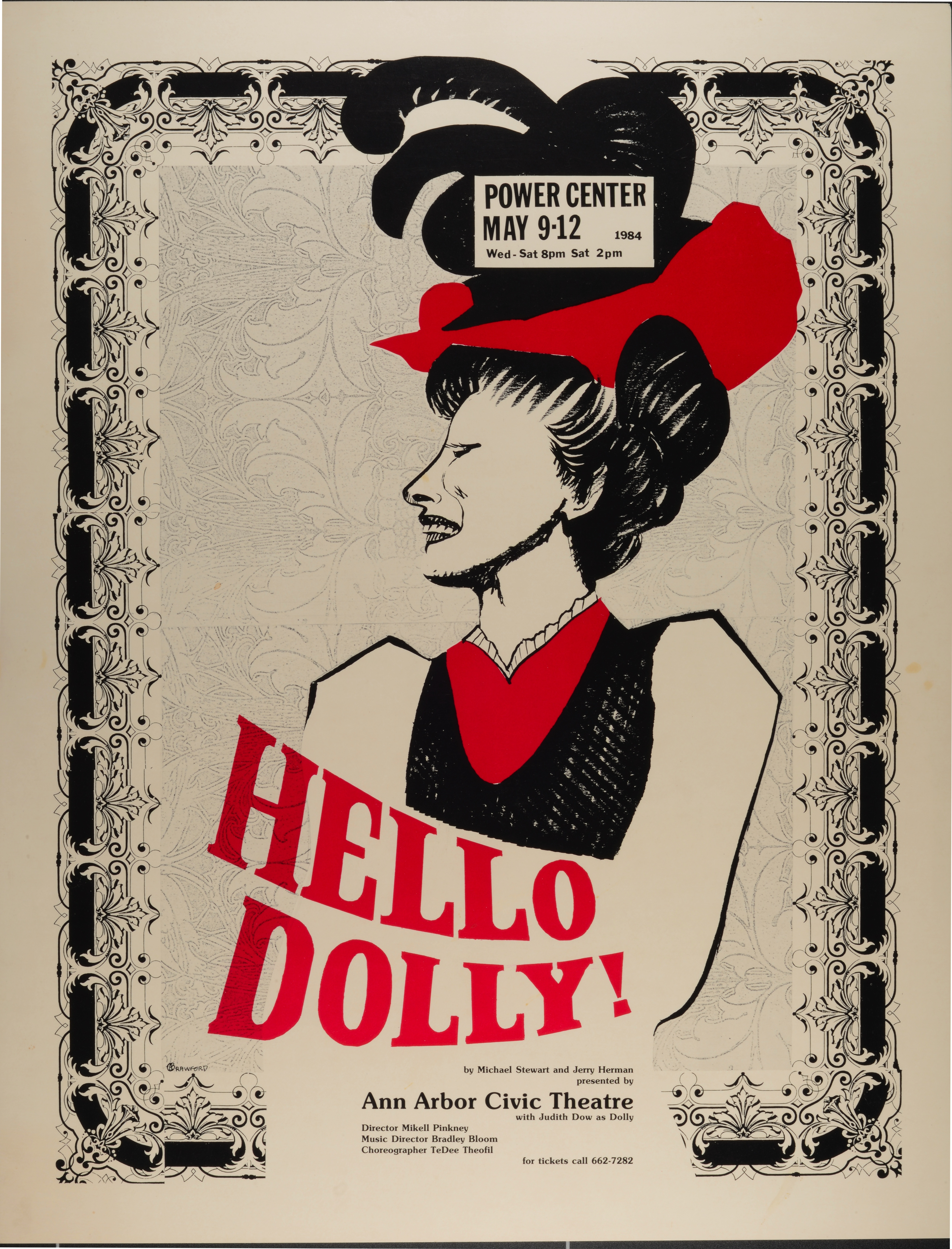 Ann Arbor Civic Theatre Poster: Hello, Dolly! image