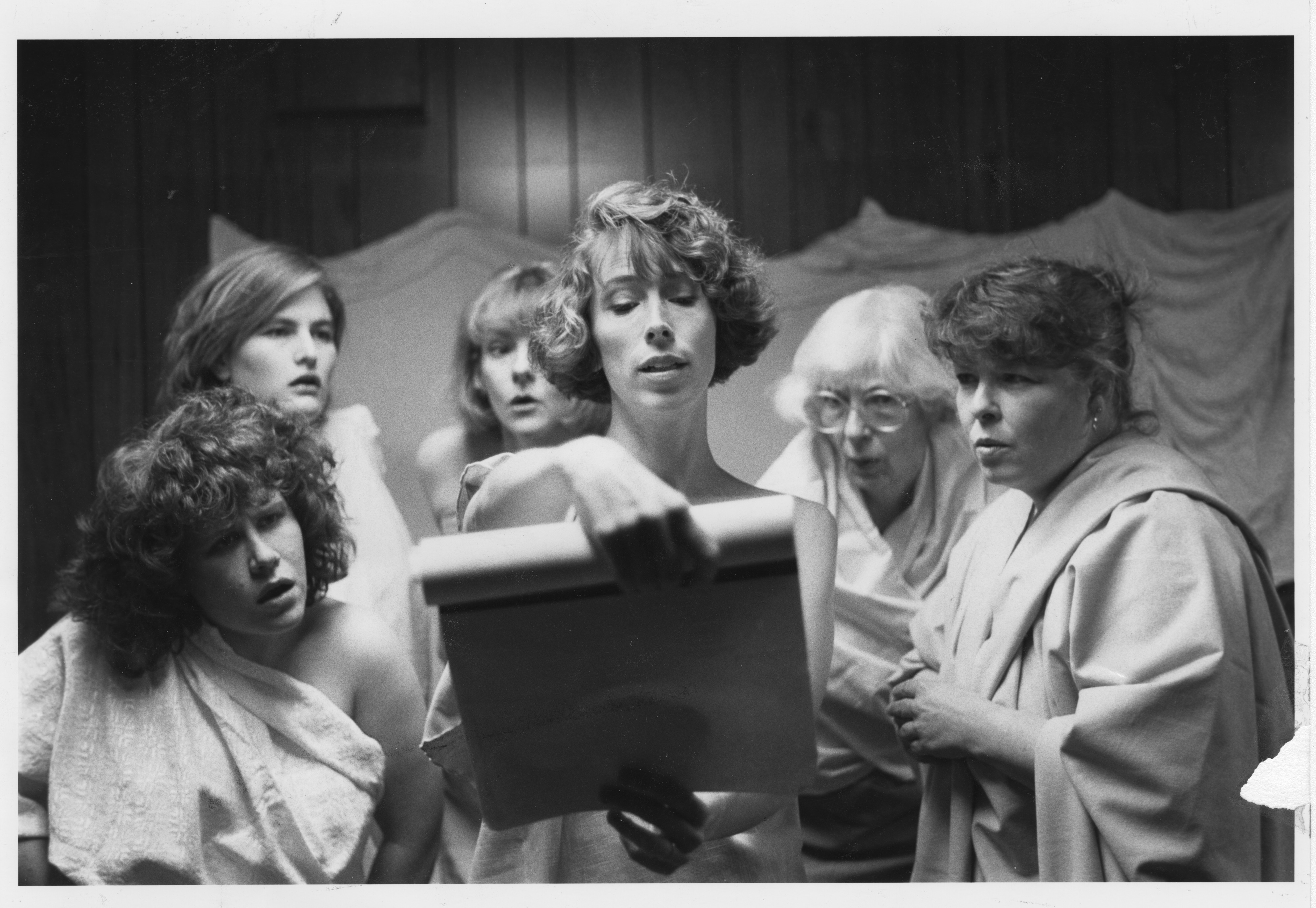 "Ann Arbor Civic Theatre: ""Lysistrata,"" October 1989 image"