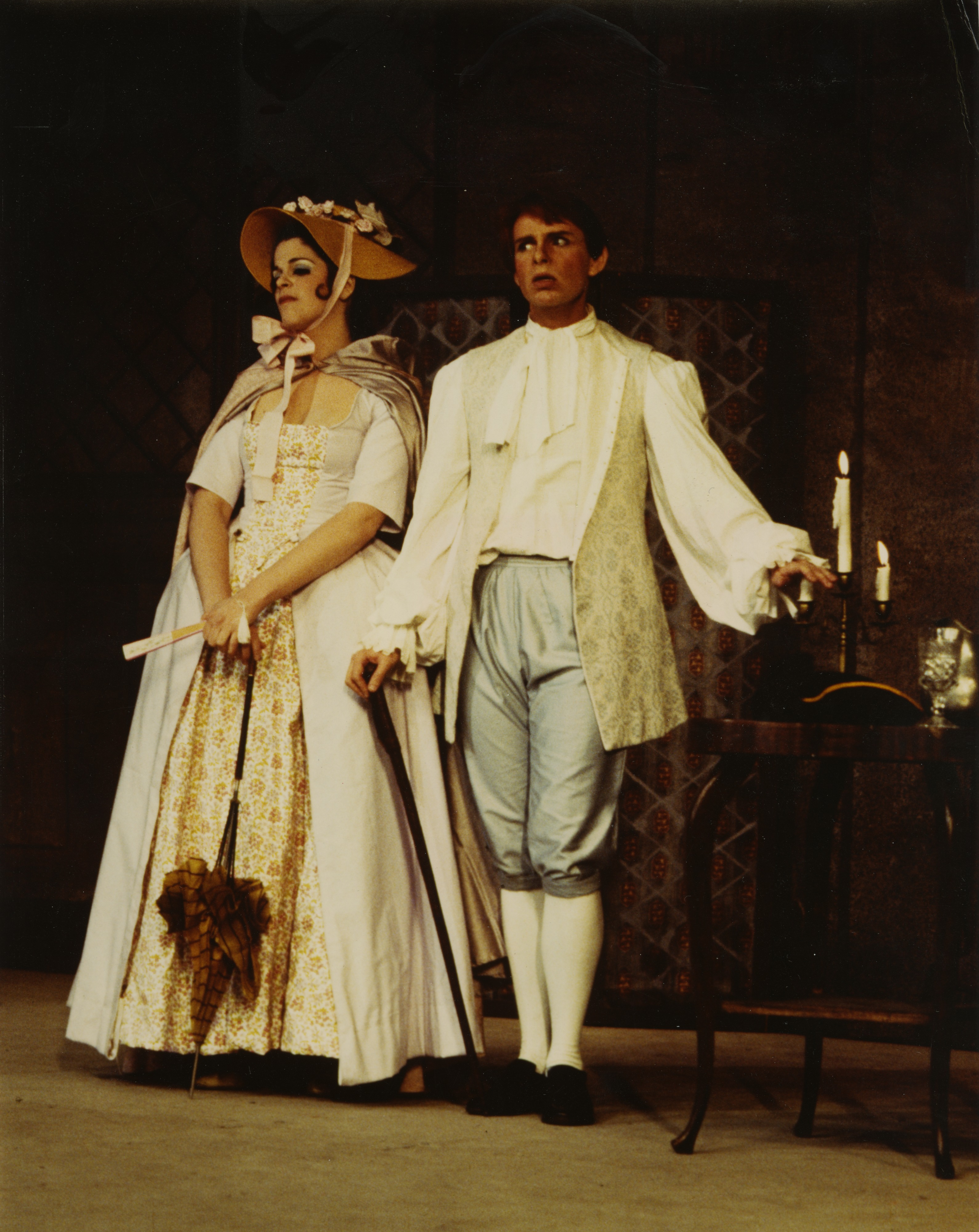 "Ann Arbor Civic Theatre: ""She Stoops to Conquer,"" May 1969 image"