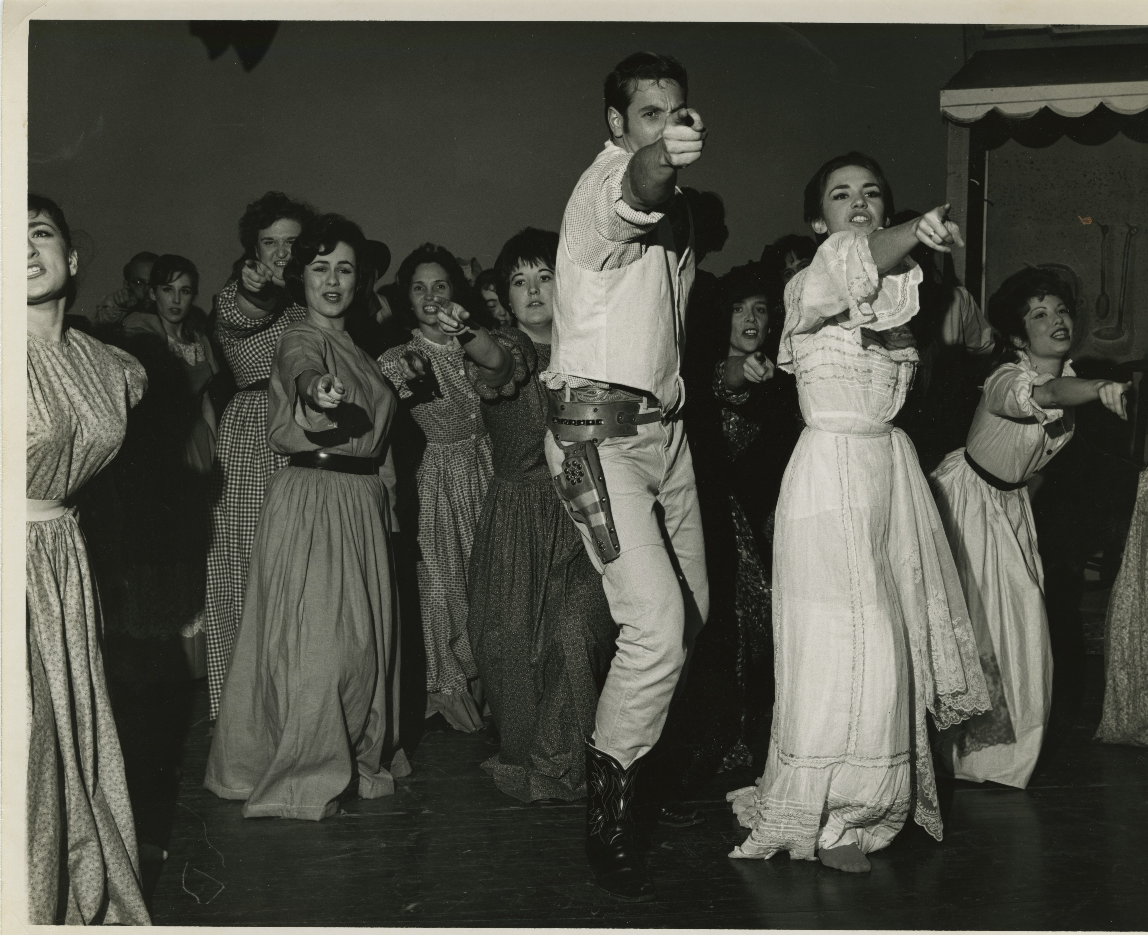 "Ann Arbor Civic Theatre: ""Oklahoma!,"" December 1963 image"