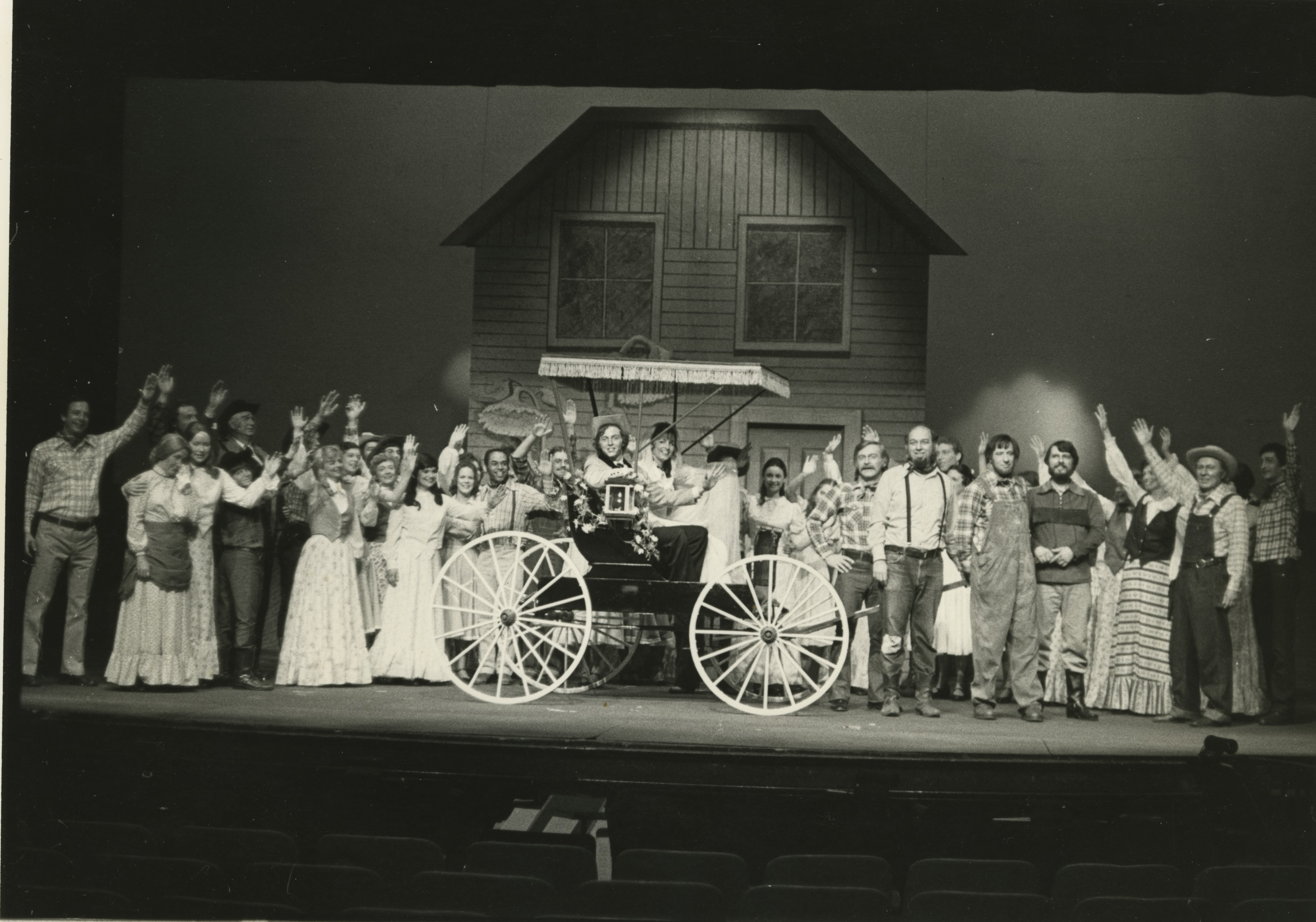 "Ann Arbor Civic Theatre: Second Stage Production of ""Oklahoma!,""  May 1976 image"