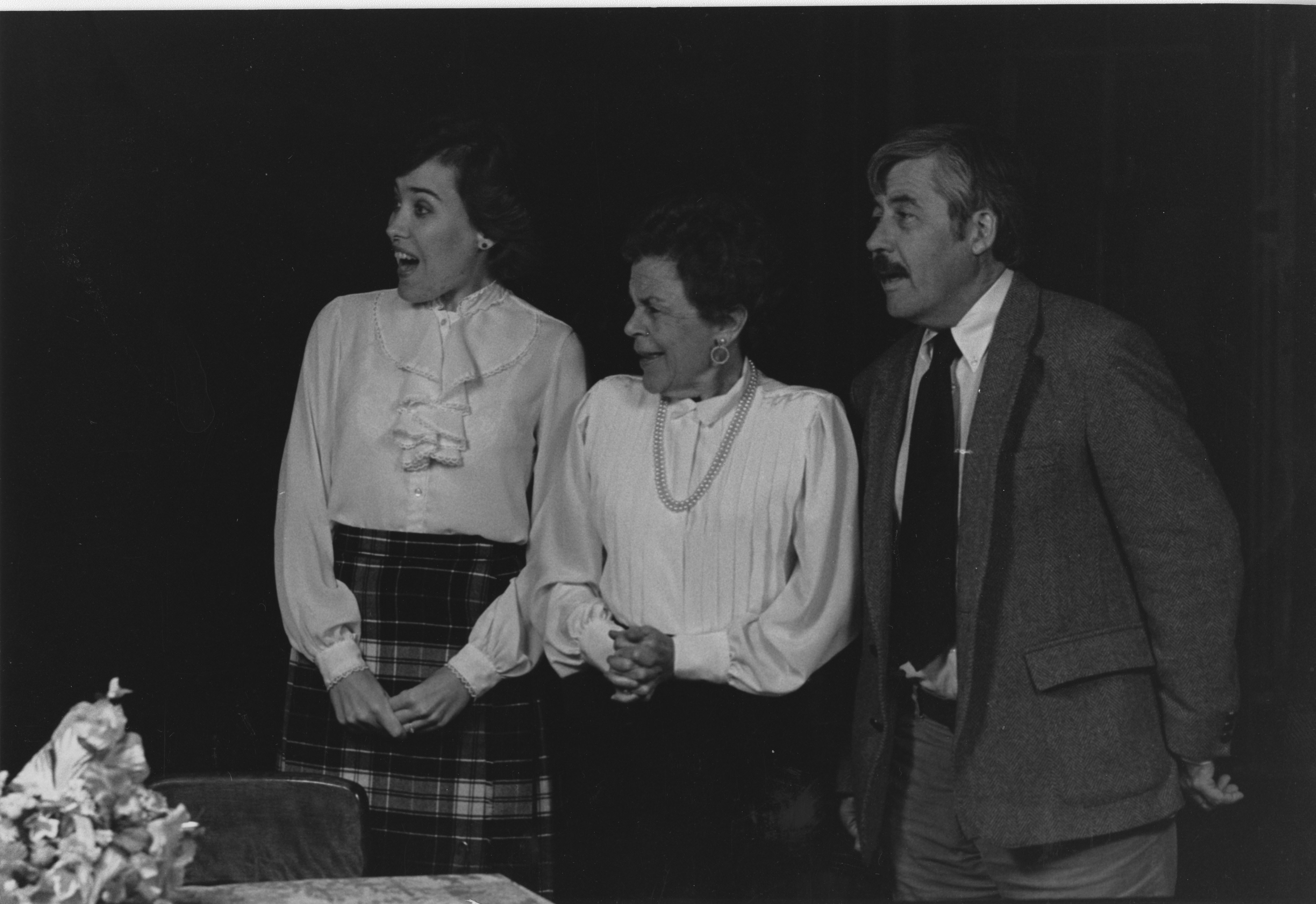 "Ann Arbor Civic Theatre: ""The Late Christopher Bean,"" December 1984 image"