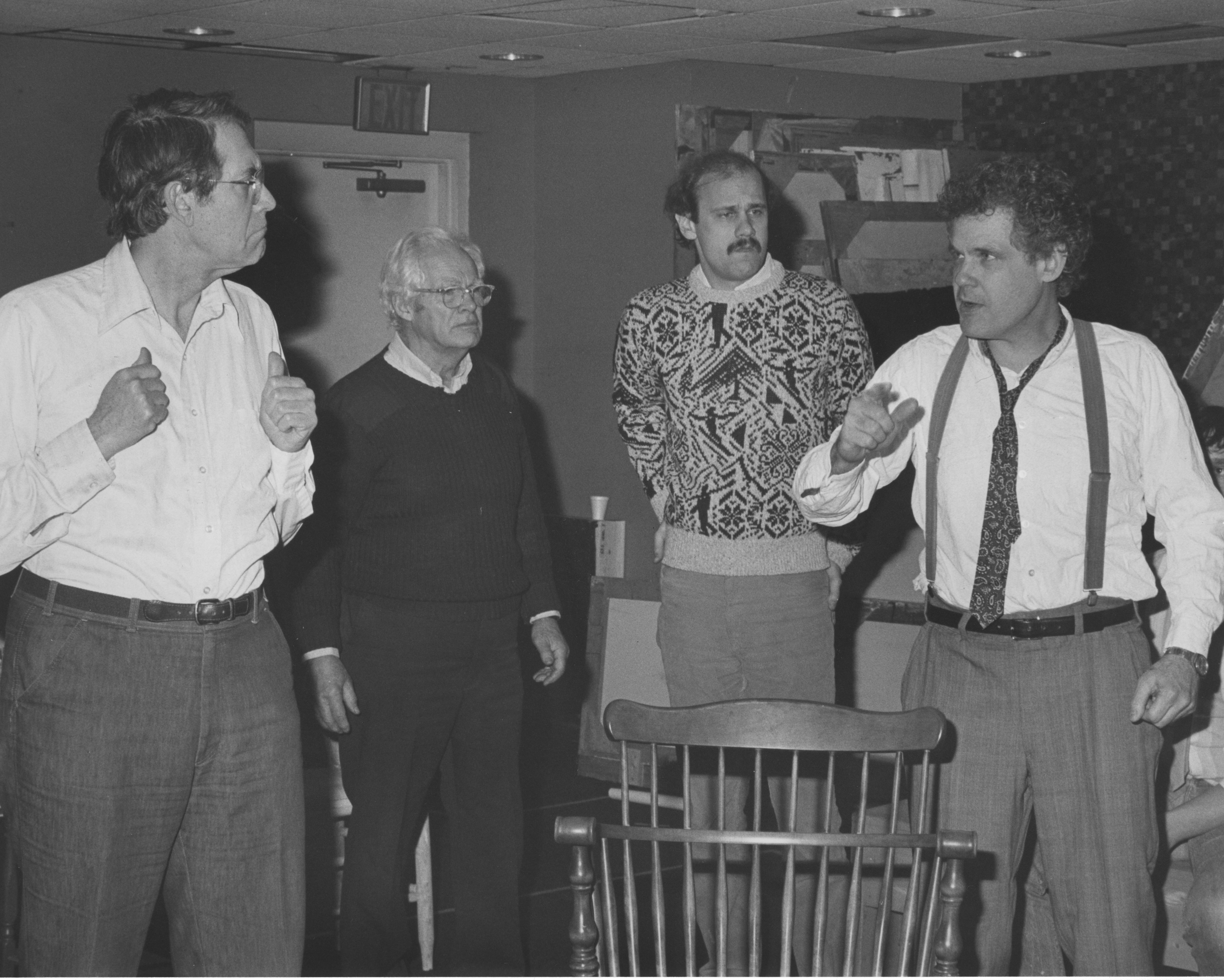 "Ann Arbor Civic Theatre: ""Inherit The Wind,"" February 1988 image"