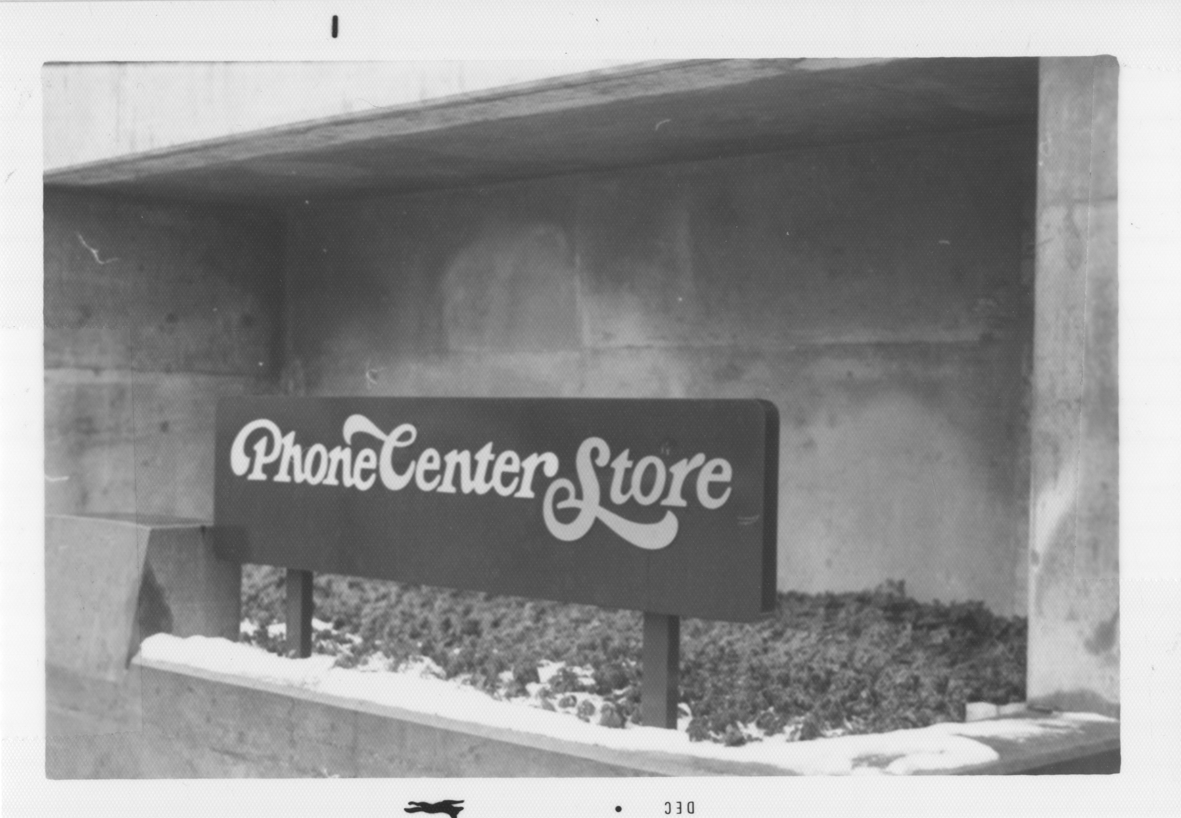 Phone Center Store (Michigan Bell), 1977 image