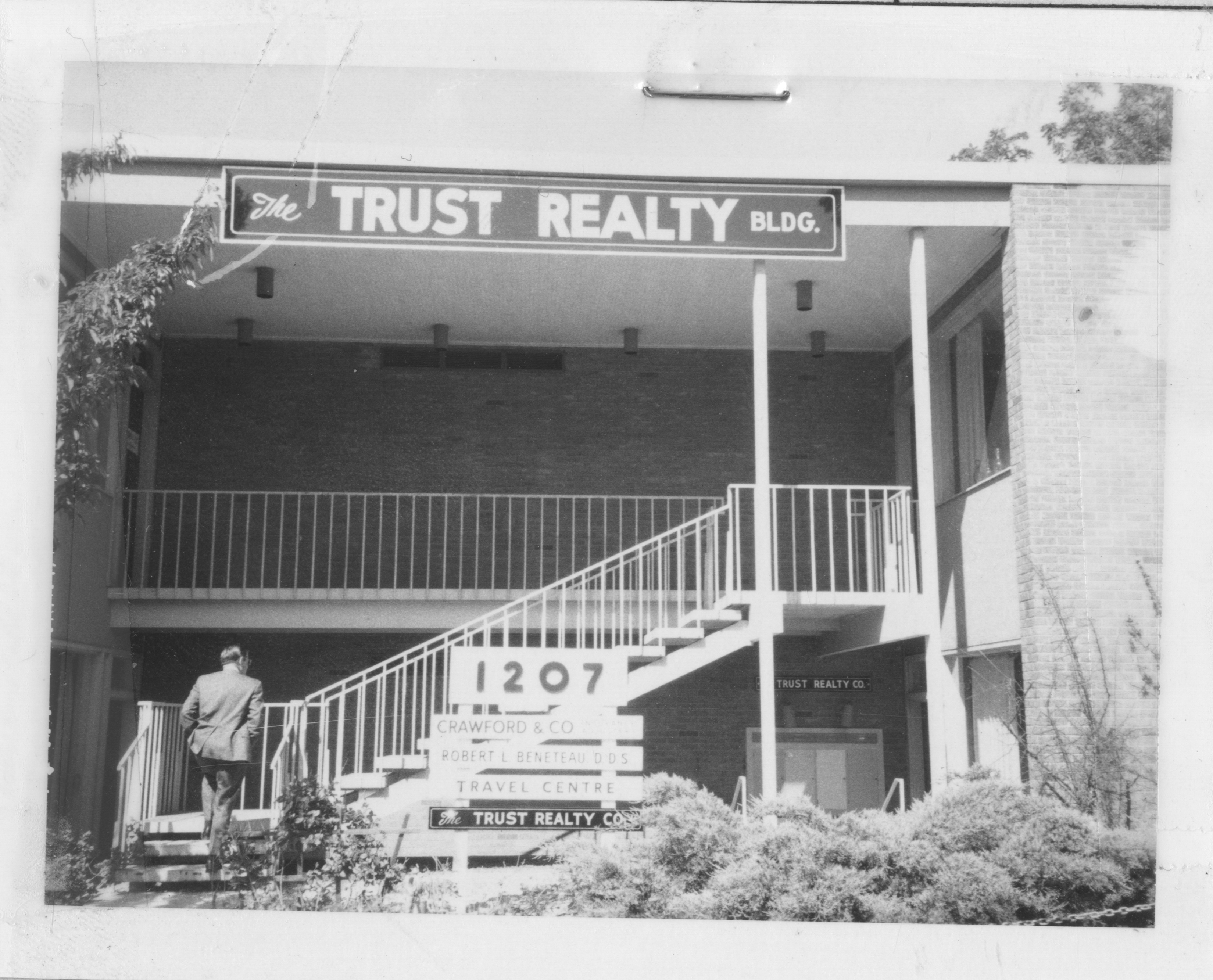 The Trust Realty Building, 1972 image