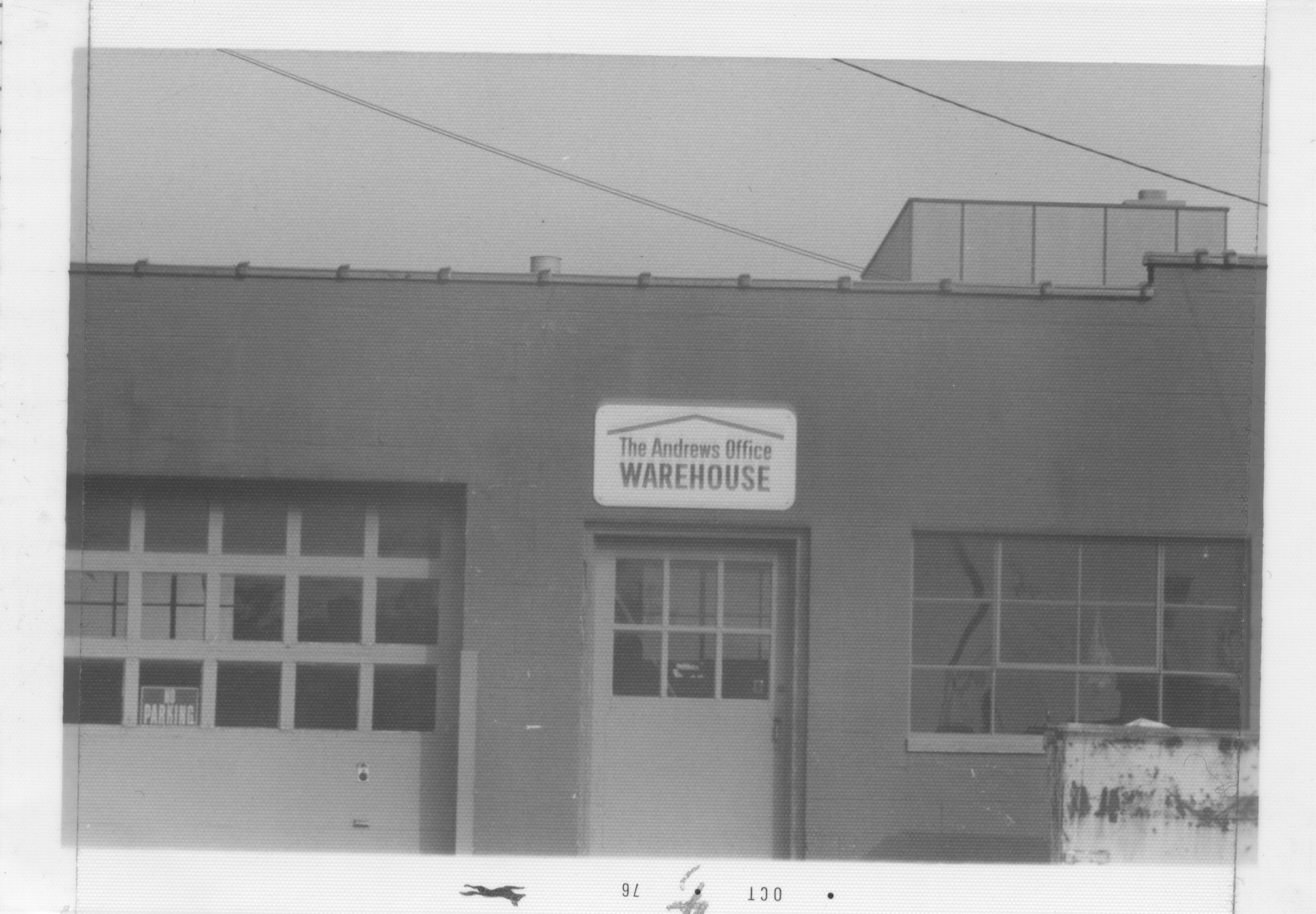 The Andrews Office Warehouse, 1976 image