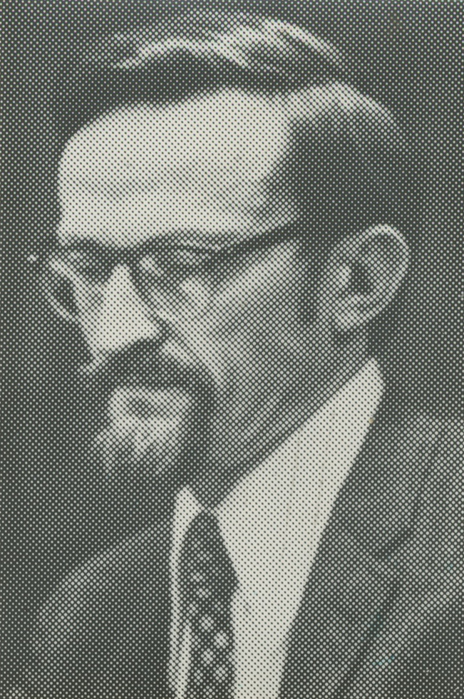 University of Michigan Professor Philip E. Converse, May 1974 image