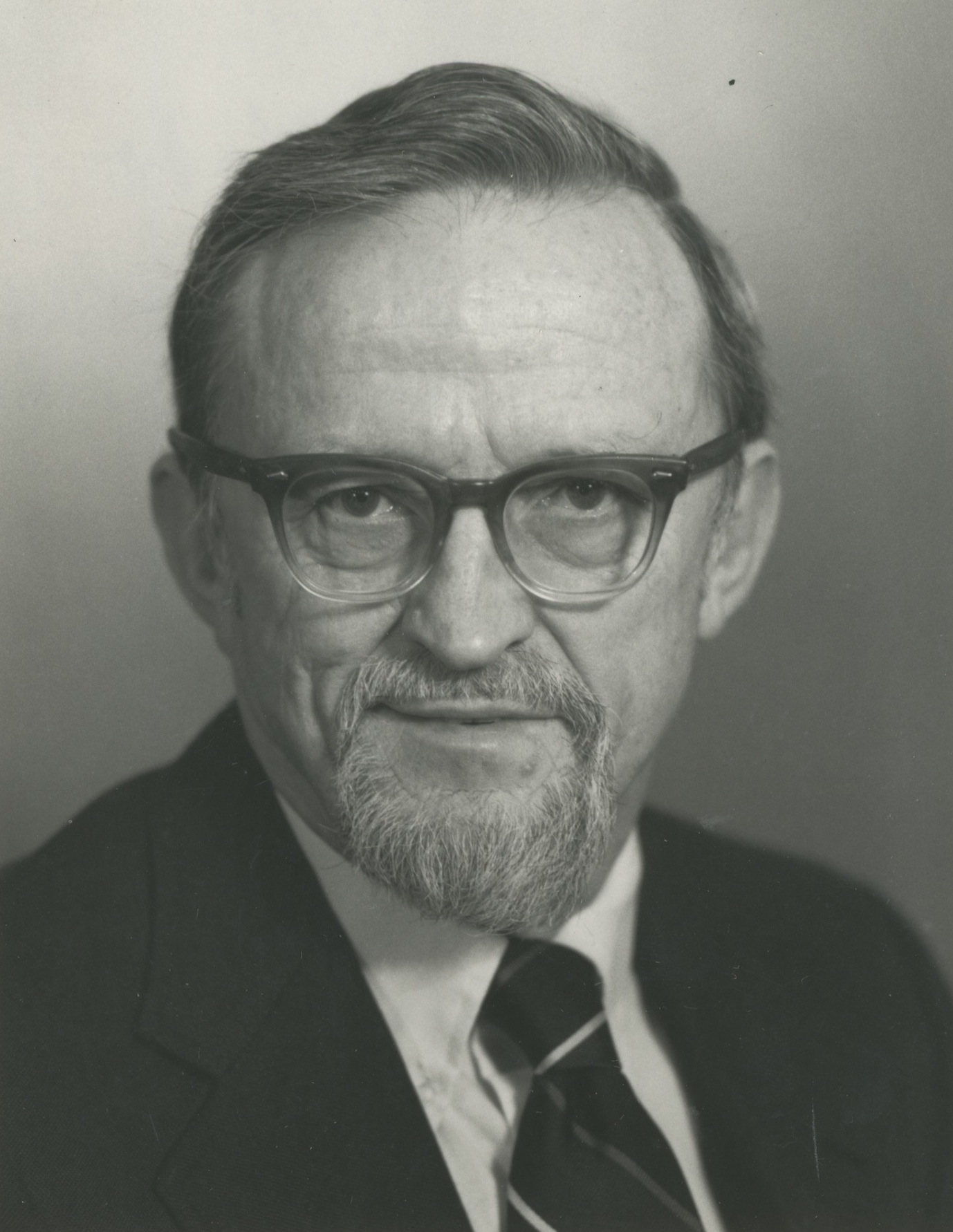University of Michigan Professor Philip E. Converse, October 1986 image