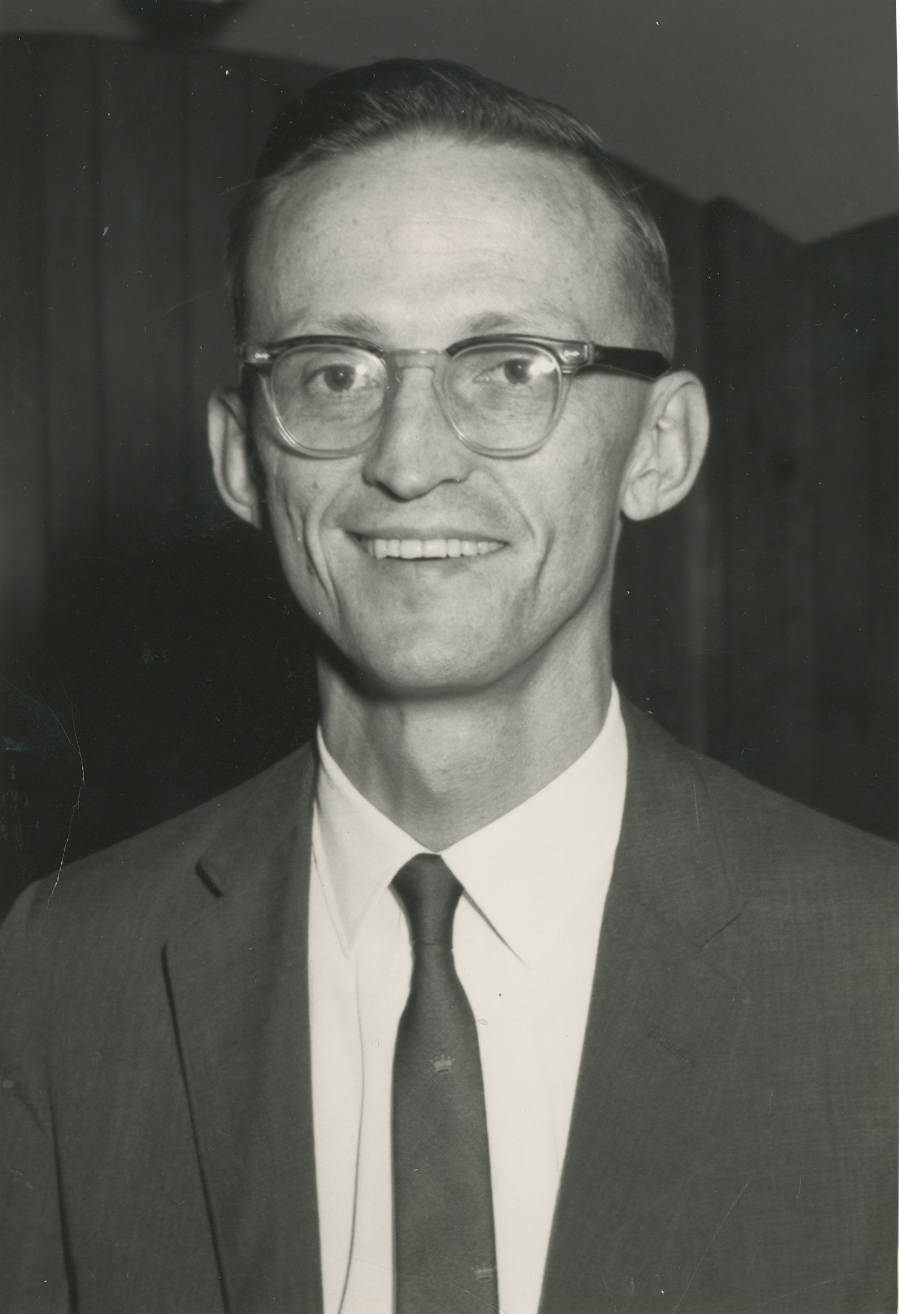 University of Michigan Professor Philip E. Converse, circa 1960s image