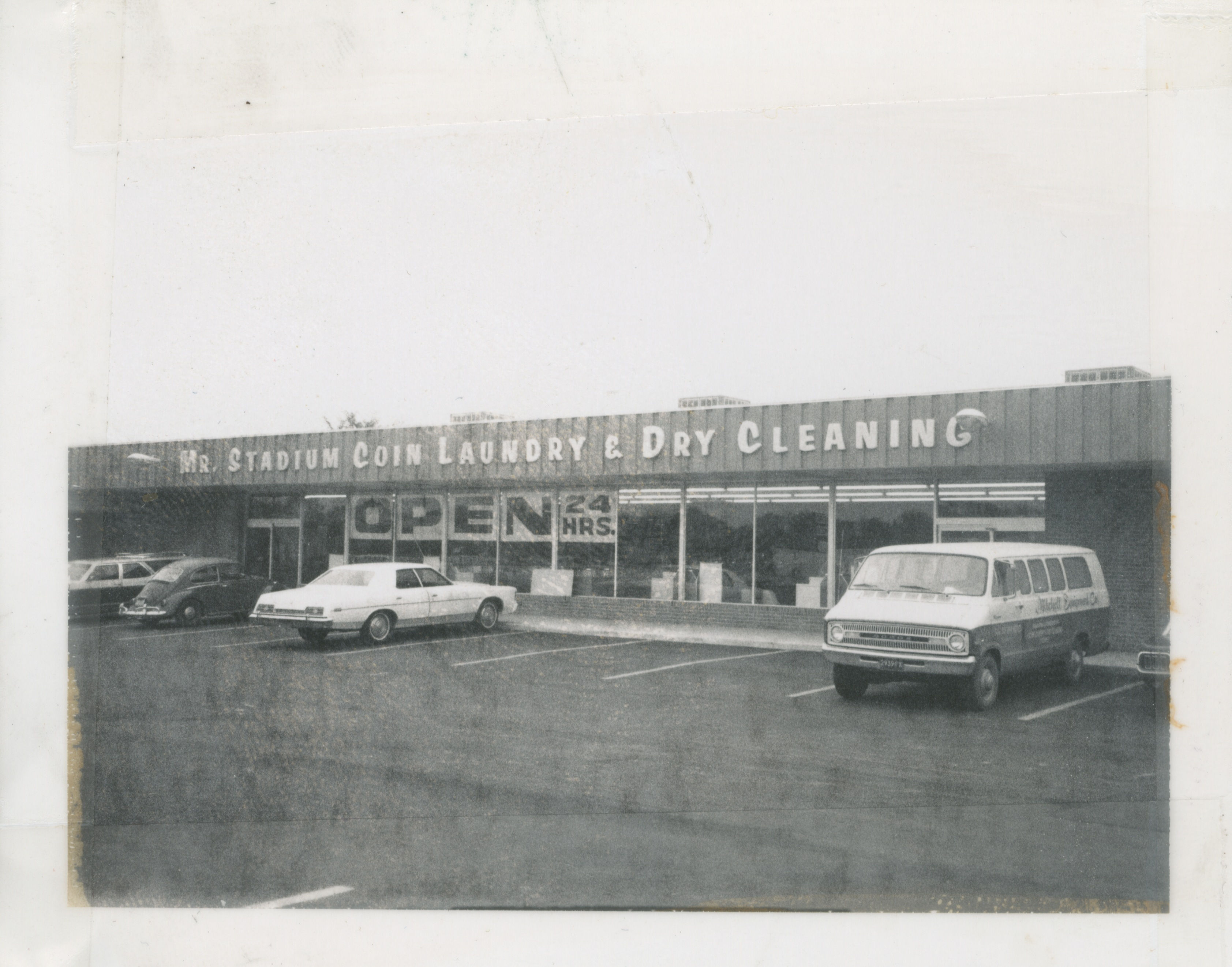 Mr. Stadium Coin Laundry, 1972 image