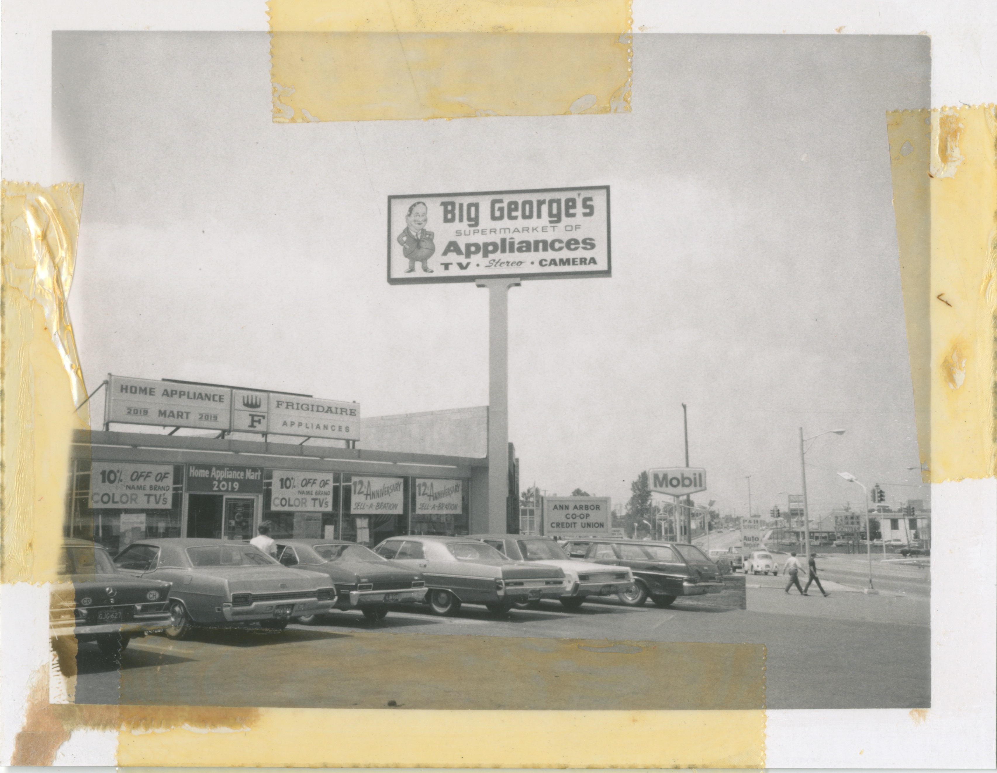 Big Georges Supermarket Of Appliances 1971 Ann Arbor District Library