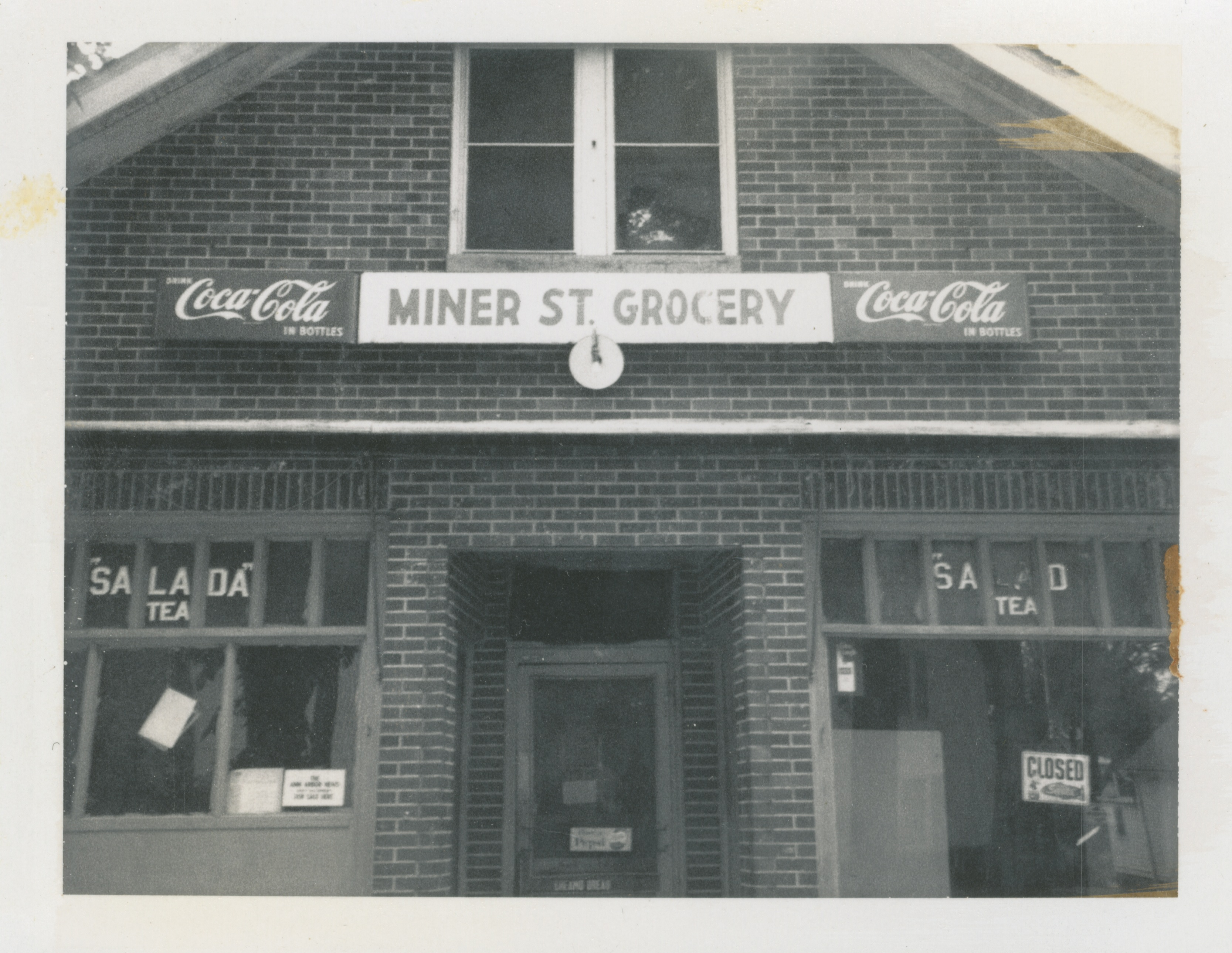 Miner Street Grocery, 1972 image