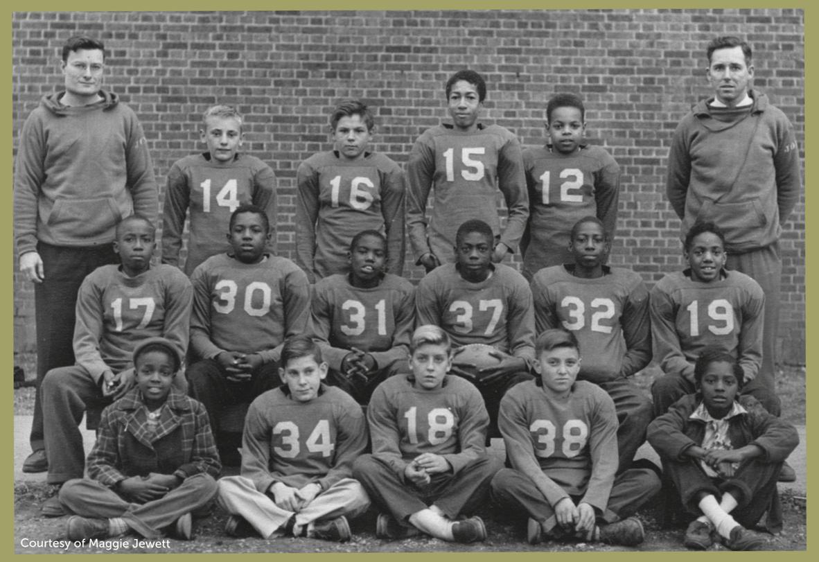 Image from Jones School Lightweight football team, 1948