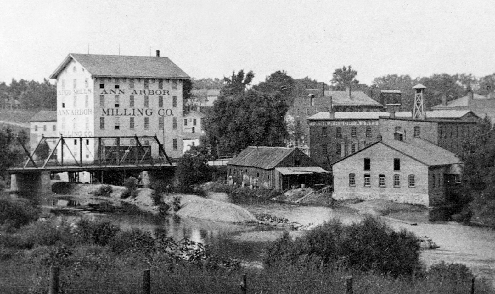 Argo Mills And Agricultural Works Ann Arbor District Library