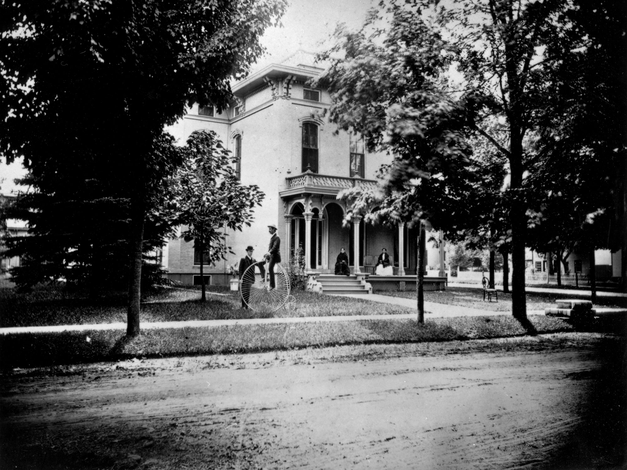 Beal House, 1860s image