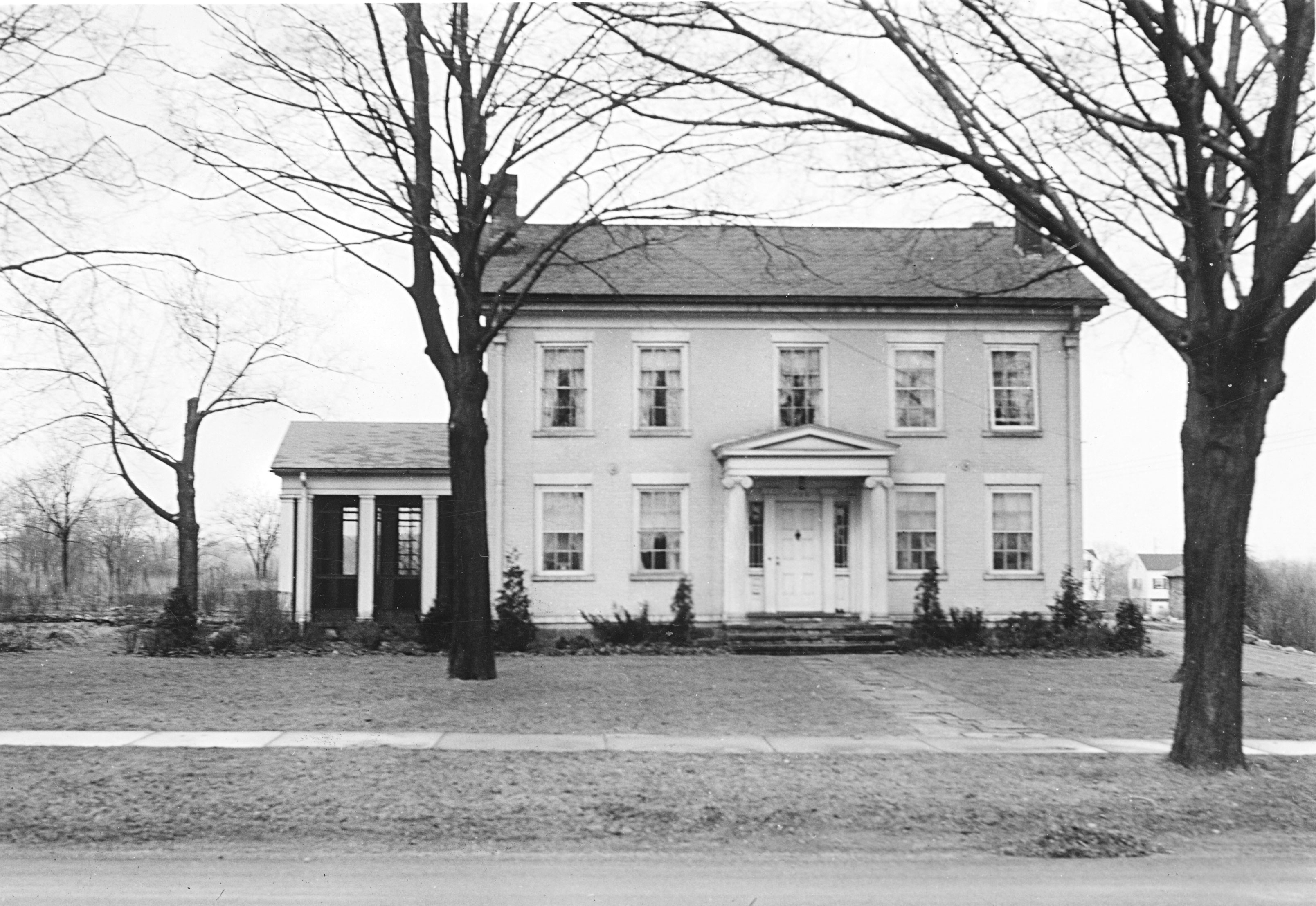 Rev. Guy Beckley House, 1425 Pontiac Trail, photo 1930s image