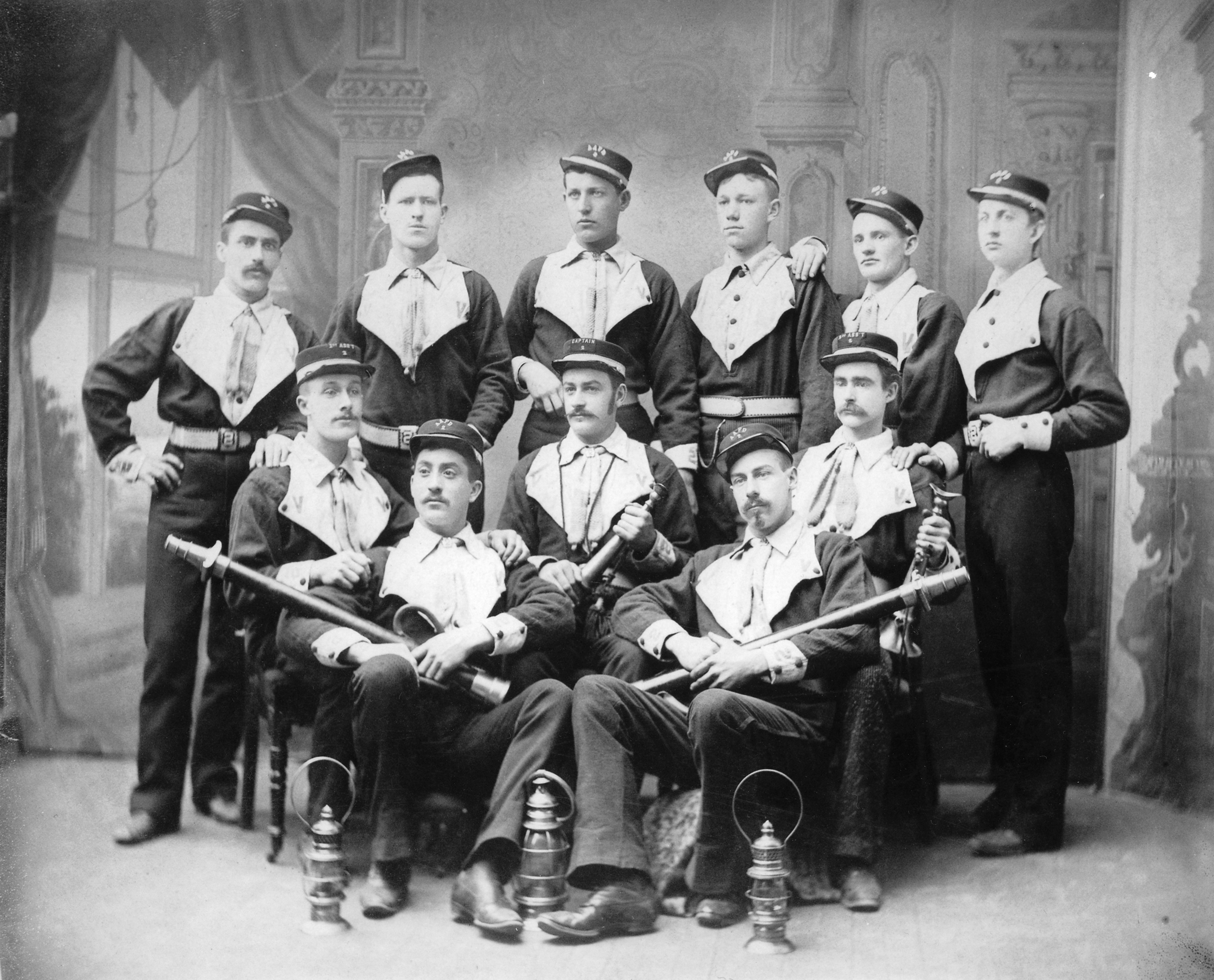Volunteers of Defiance Hook & Ladder Company, 1877 image
