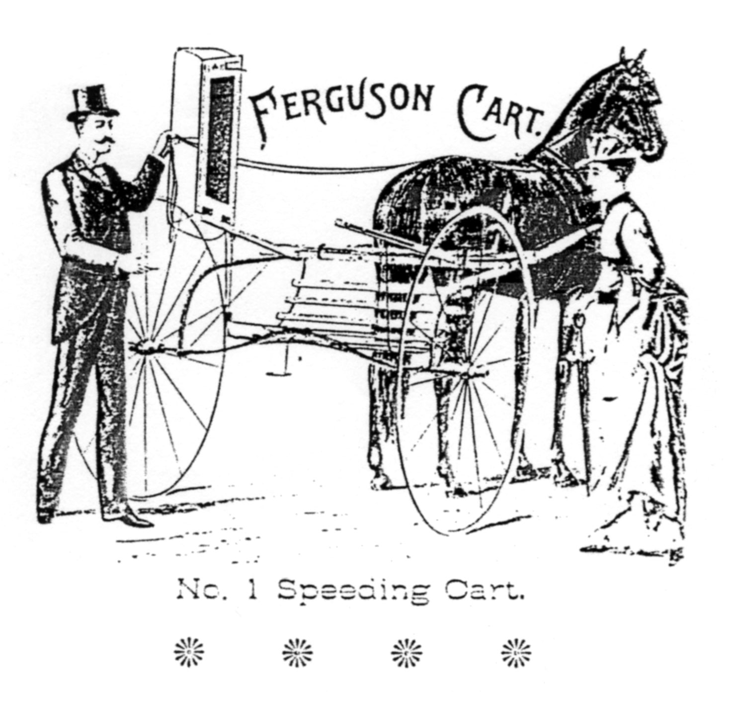 Ferguson No. 1 speeding cart image