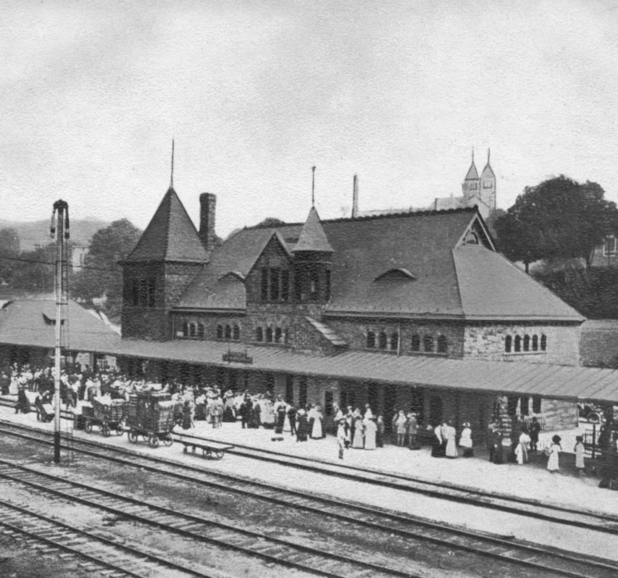 Michigan Central Railroad Depot, 1887 image