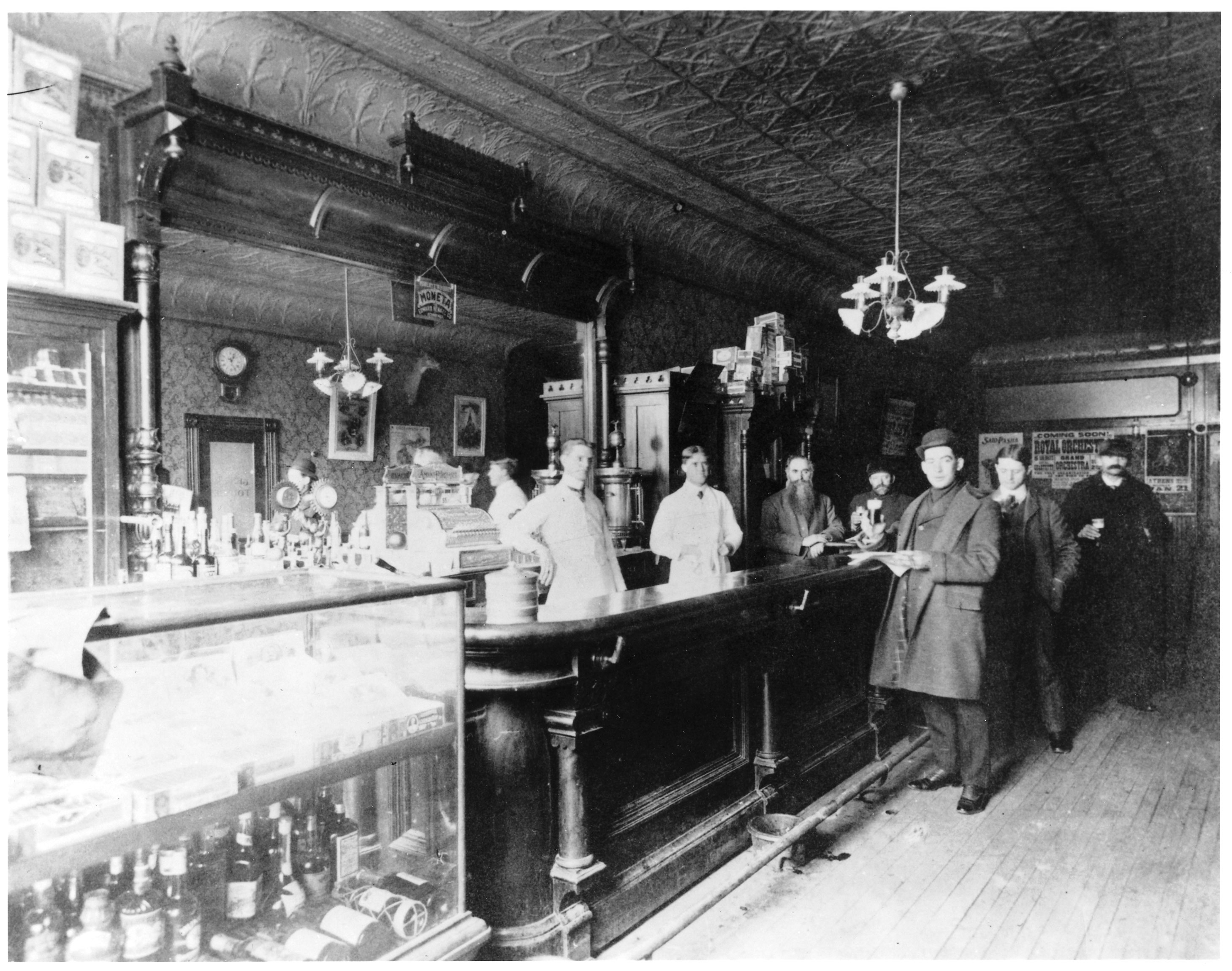 The hotel bar image