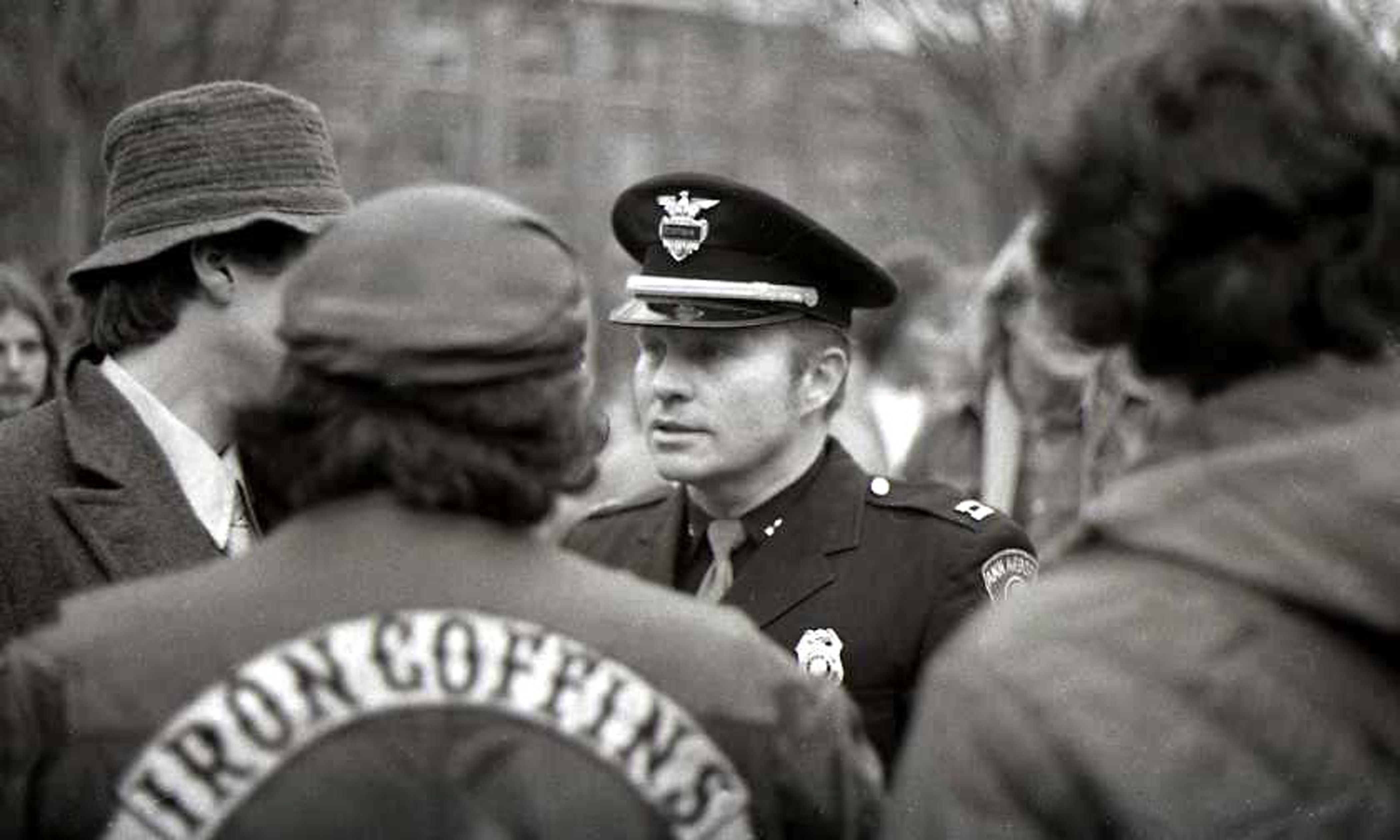 Police At Hash Bash, 1977 image