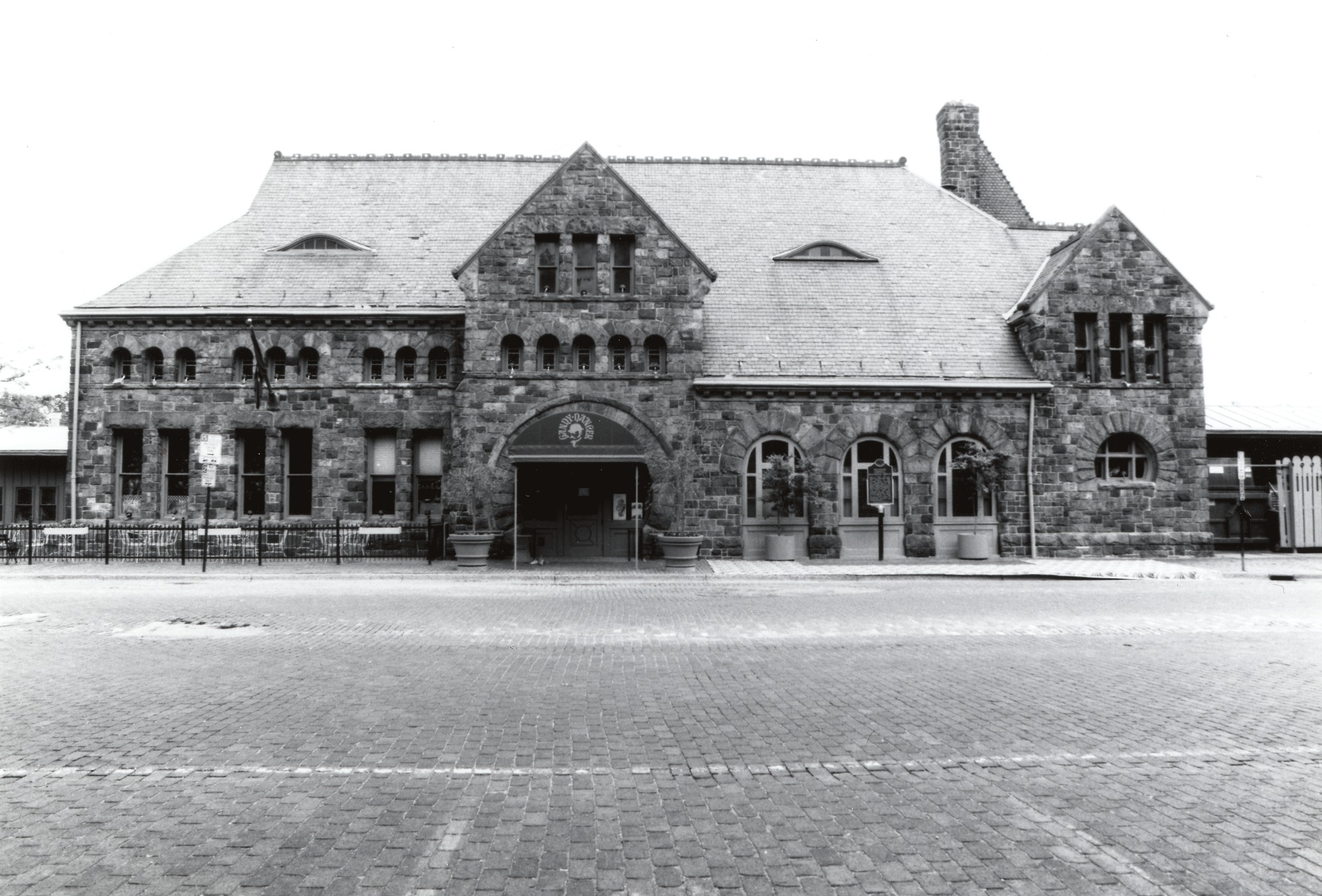 Michigan Central Railroad Depot, Gandy Dancer, 1886 image