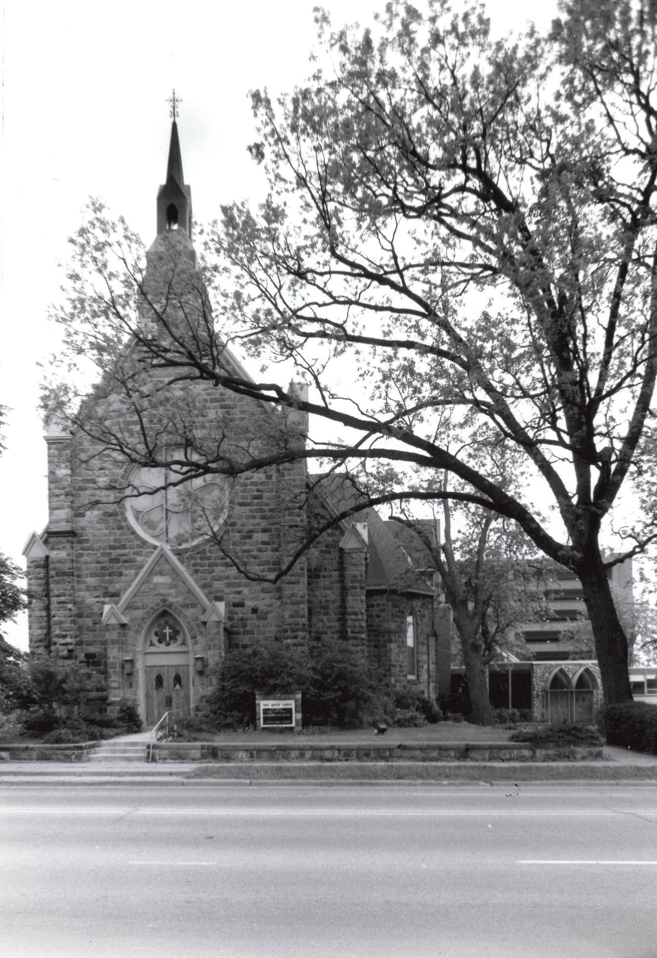 First Baptist Church, 1880 image