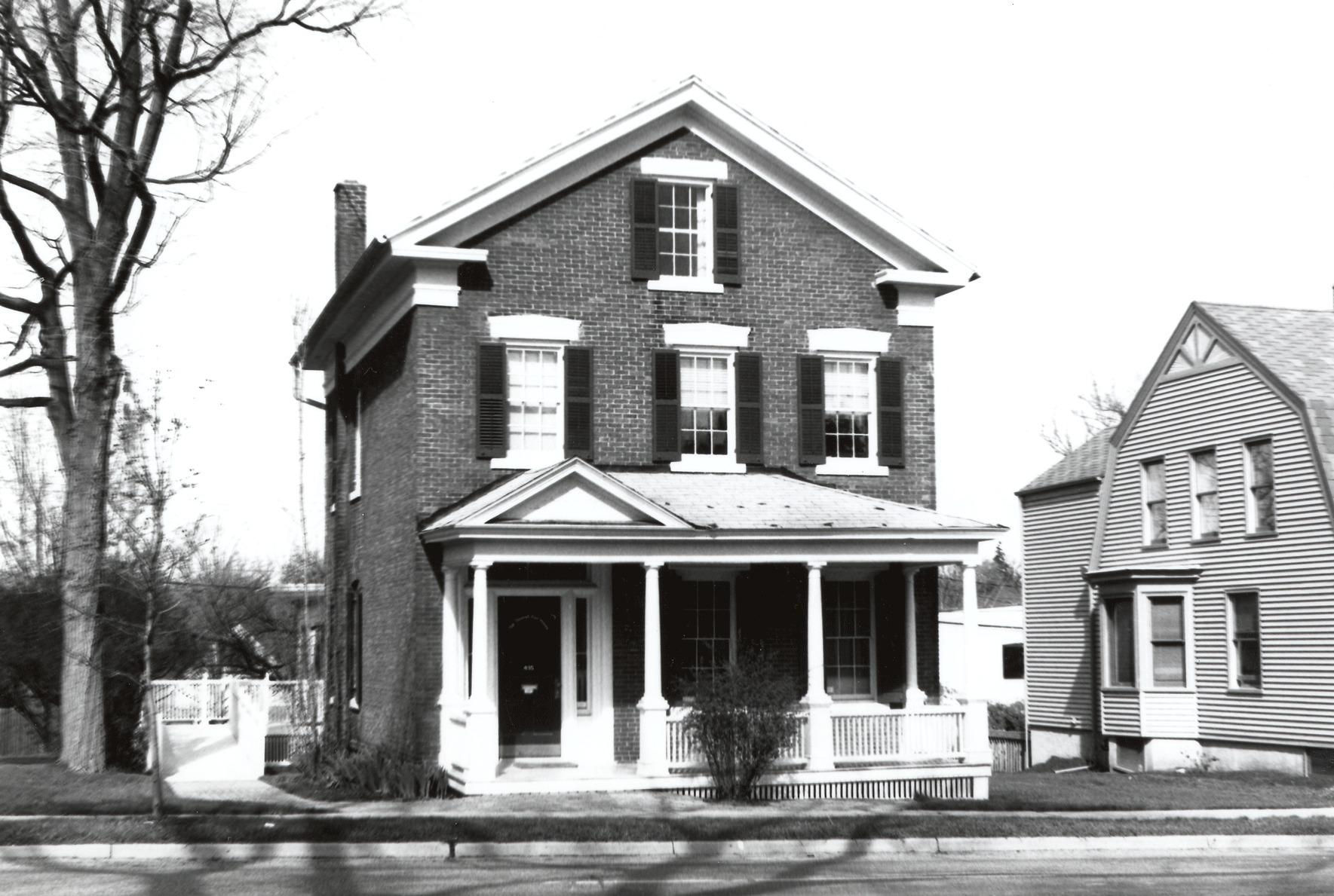 thomas earl house 1860 ann arbor district library rh aadl org 1860 house for sale uk 1860 house paint colors