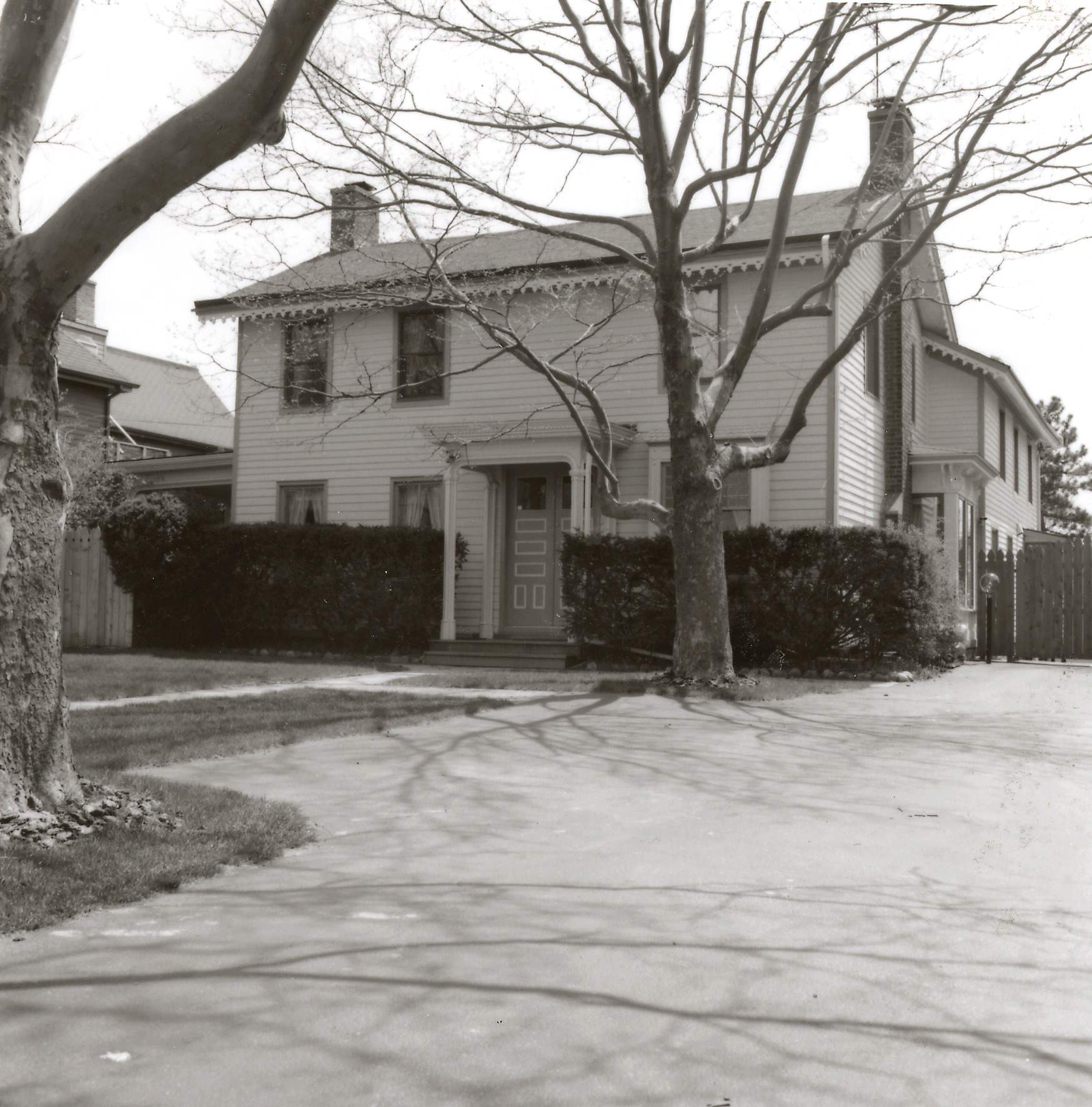 William W. Wines House, (Dean House) circa 1848 image
