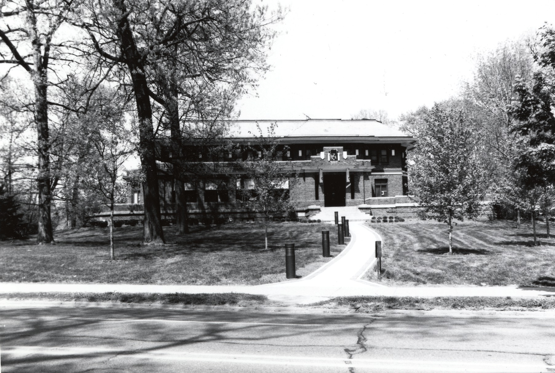 Phi Kappa Sigma Fraternity (Trotter House), 1924 image