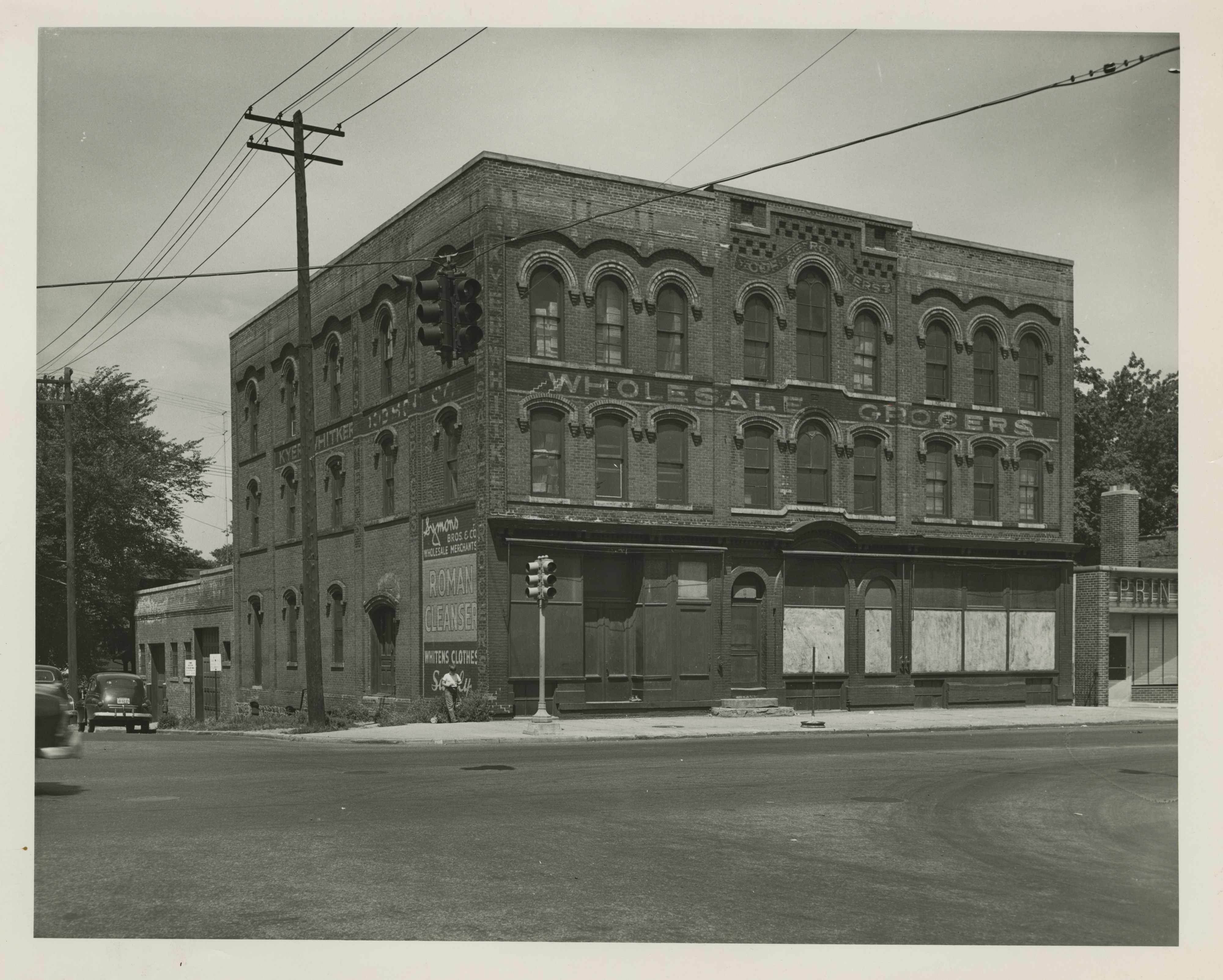 Kyer-Whitker Building, undated image