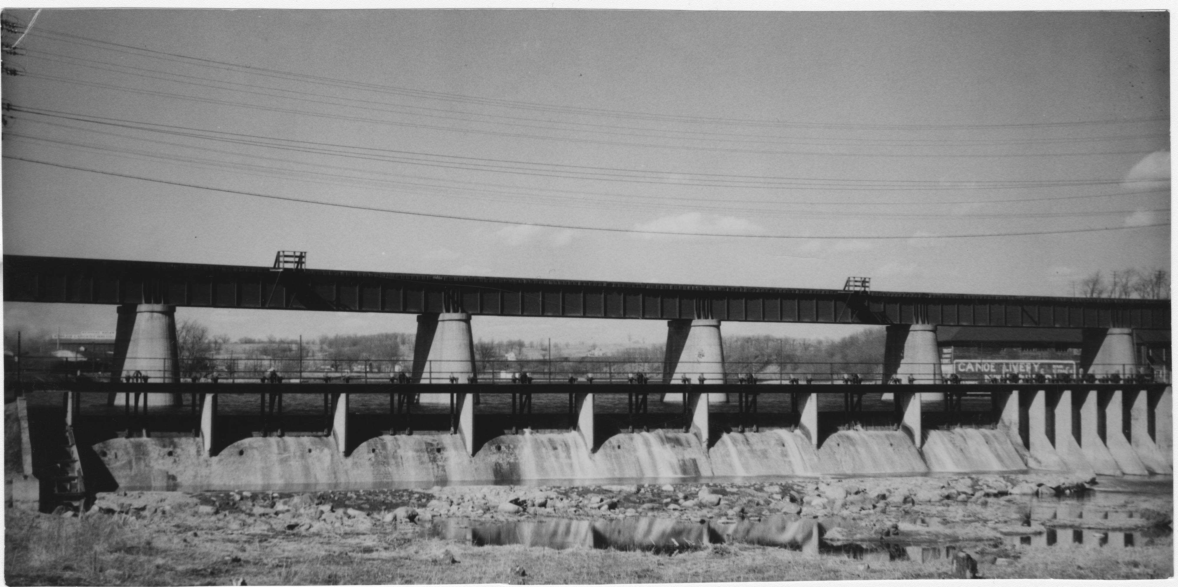 Canal Bridge, Ann Arbor Railroad, undated image