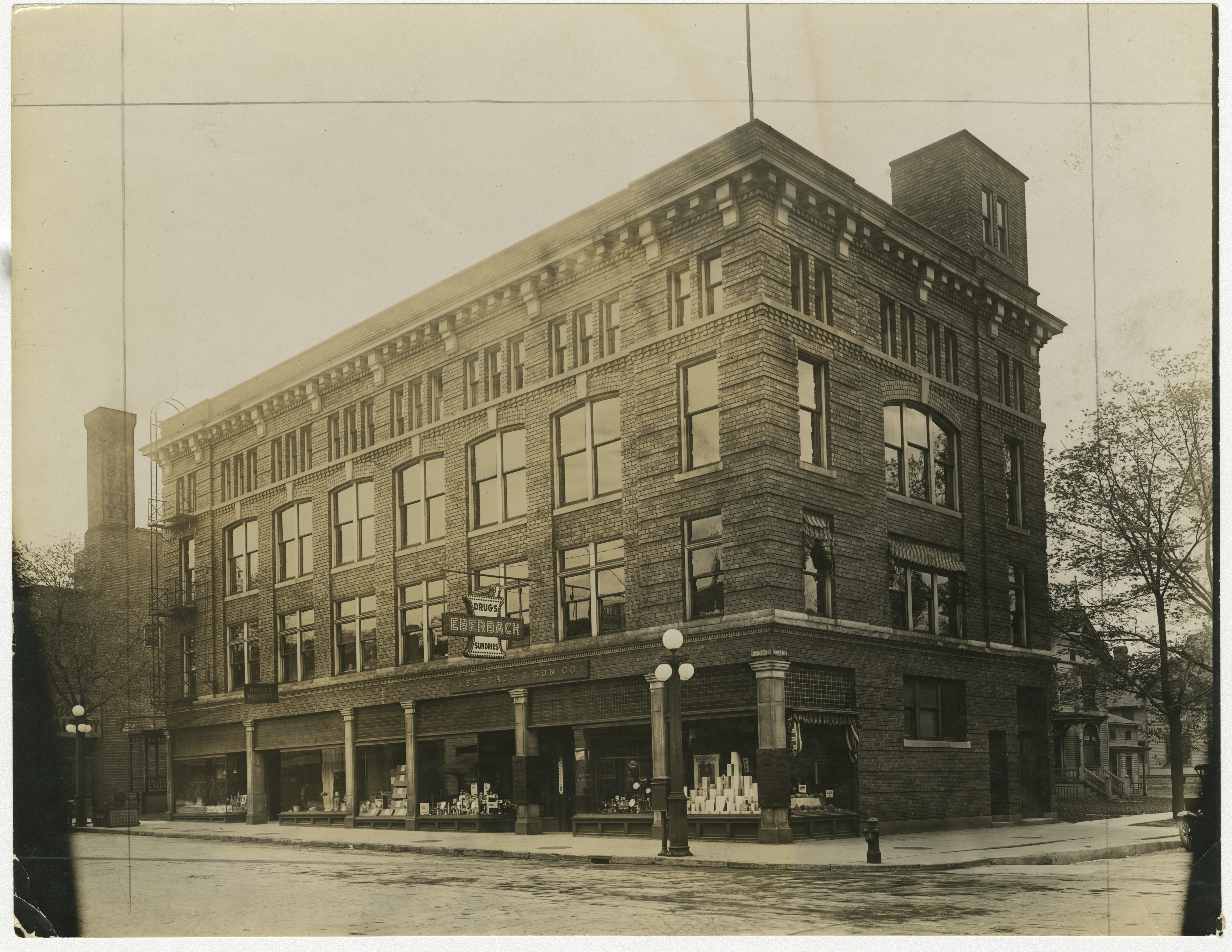 Eberbach Drug Co., corner of 4th Avenue and E. Liberty St, Ann Arbor, undated image