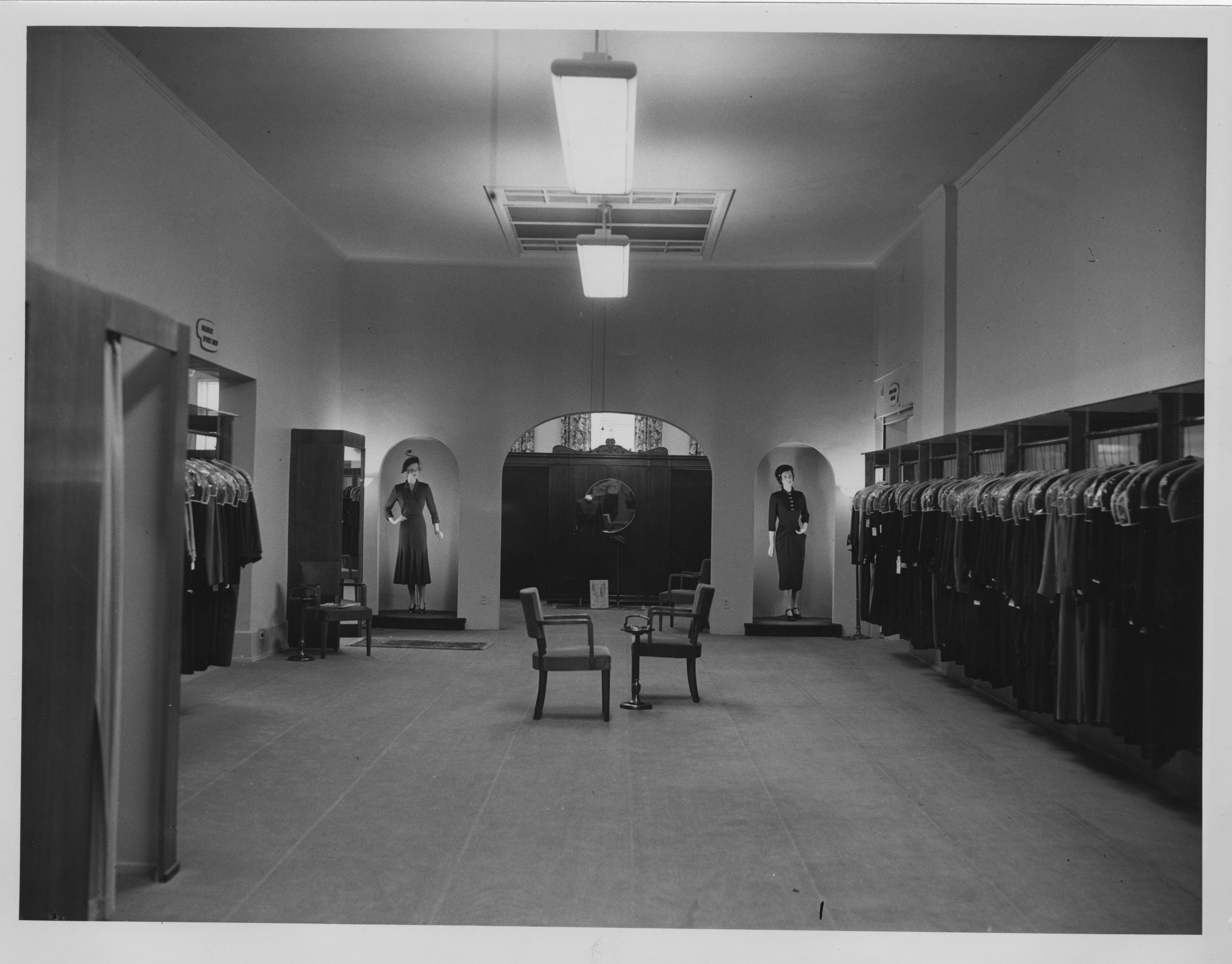 Interior of Goodyear's Department Store, 1939 image