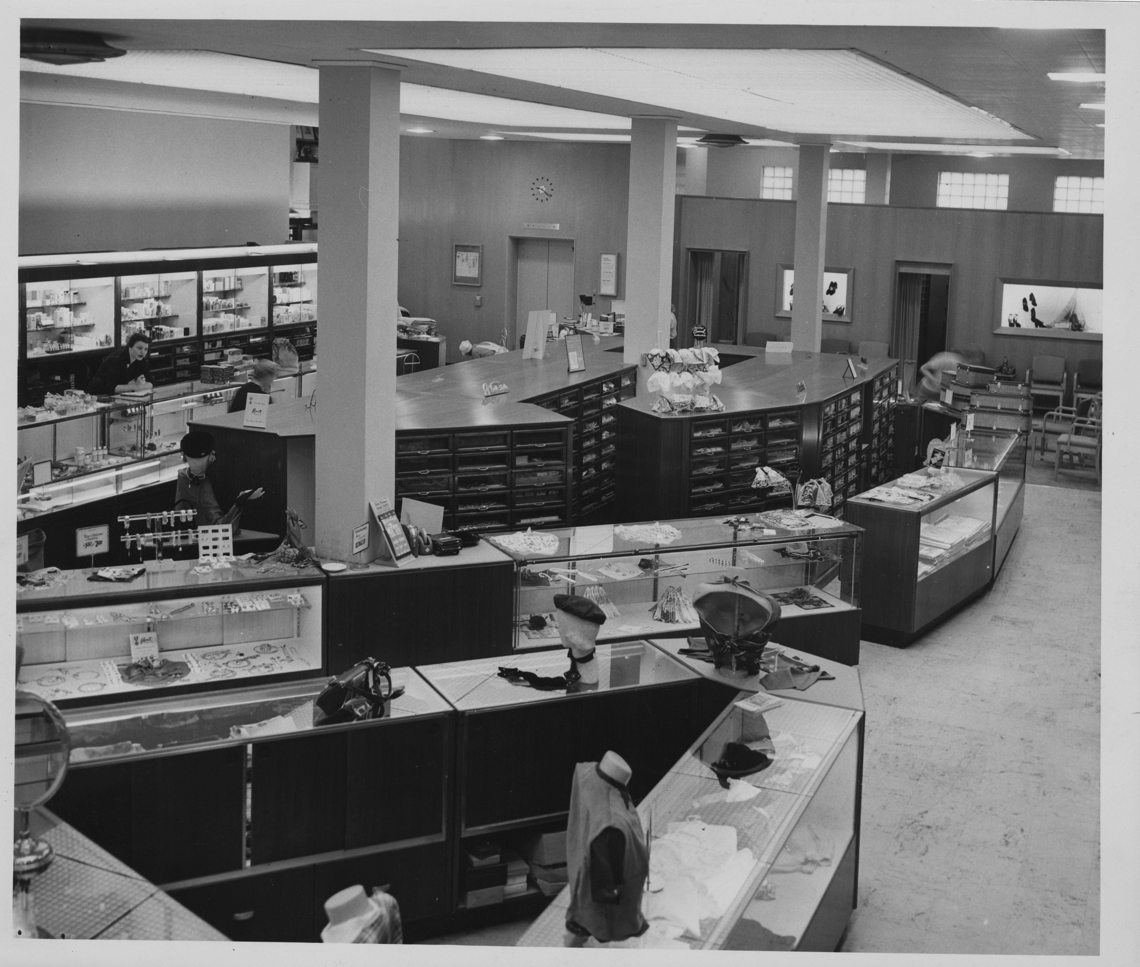 Interior of Goodyear's, 1939 image