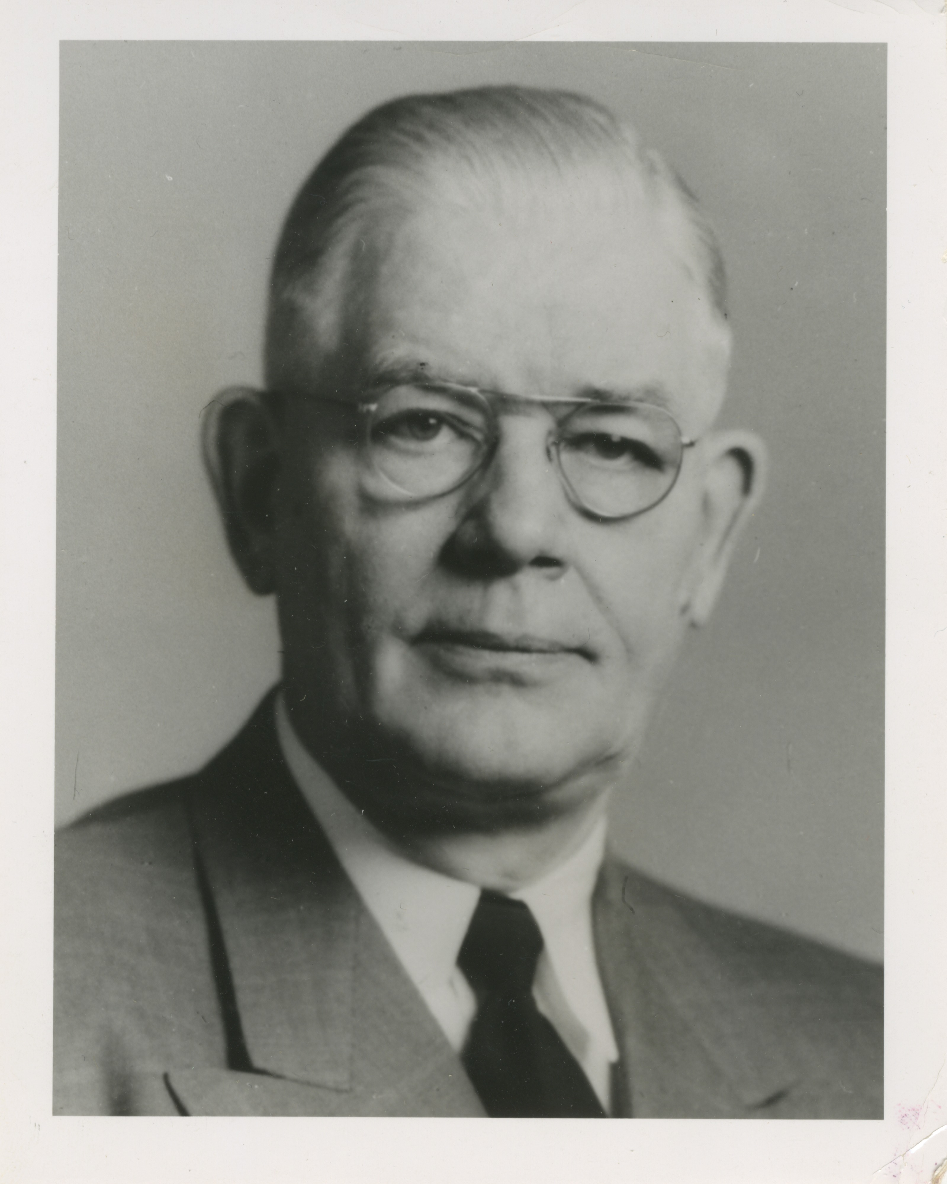 Prof. Earnest Boyce, University of Michigan, Undated image