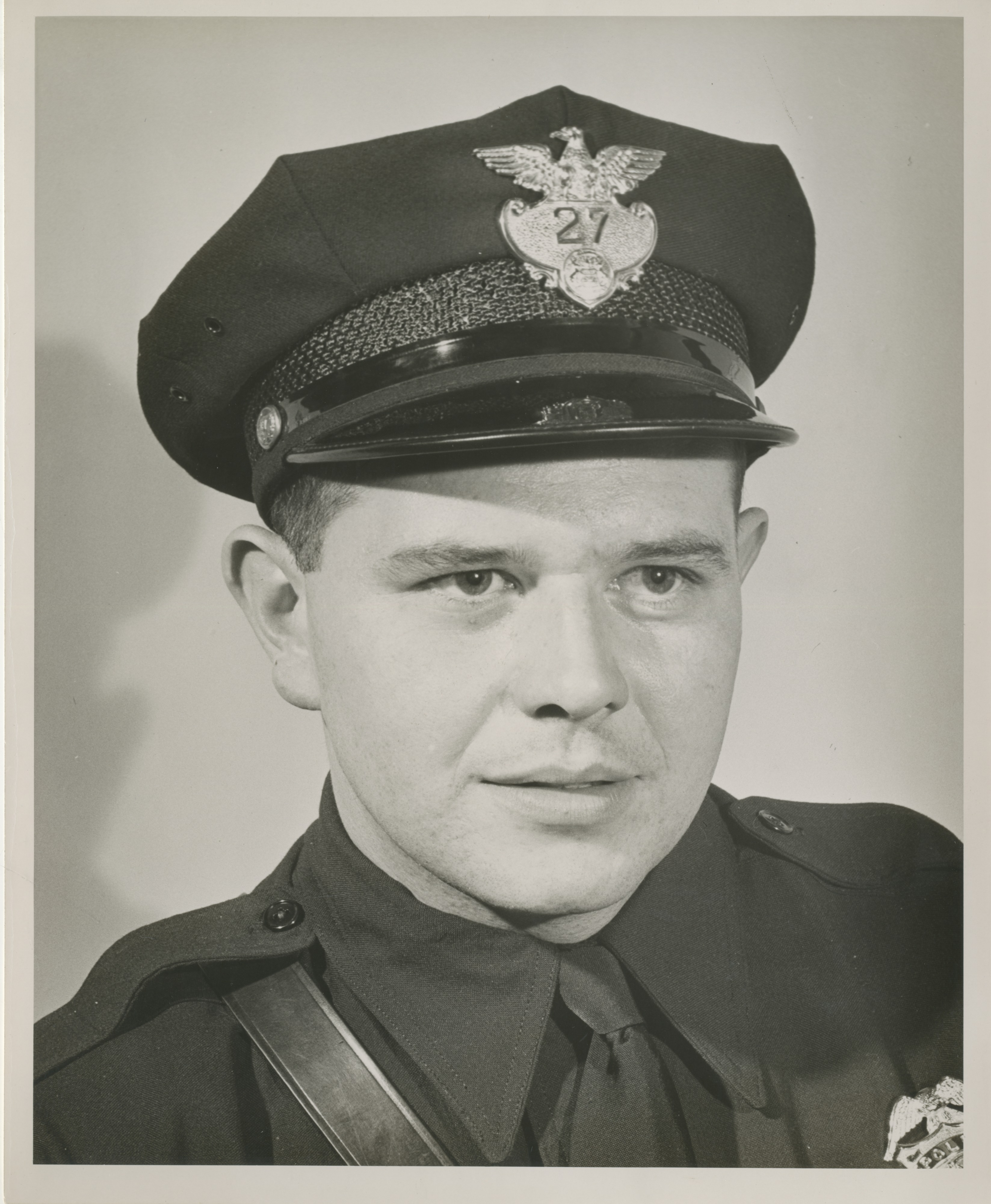 Michael Katopol - Newly Appointed Ann Arbor Police Officer, July 1946 image