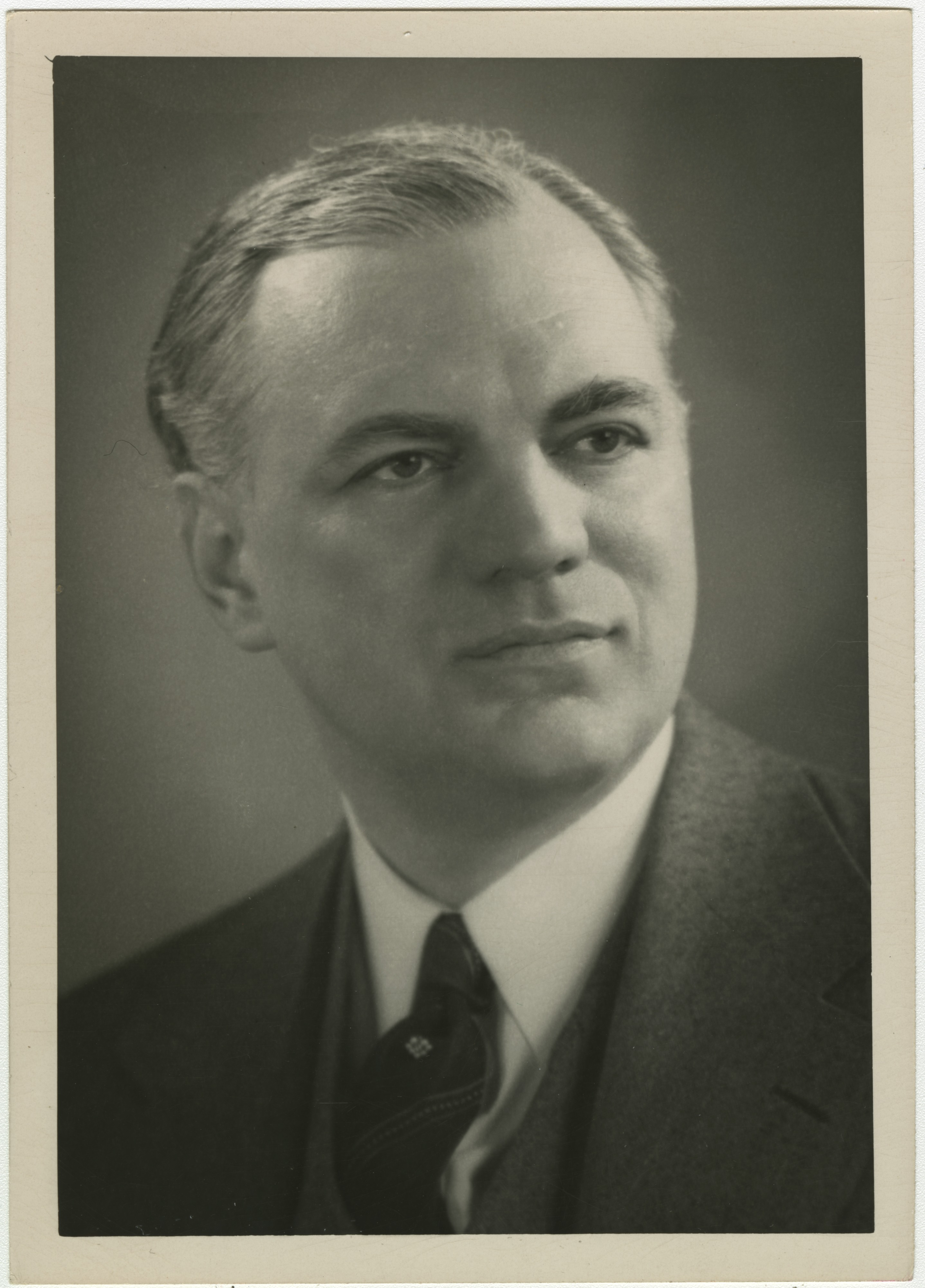 Portrait of Preston W. Slosson, 1948 image