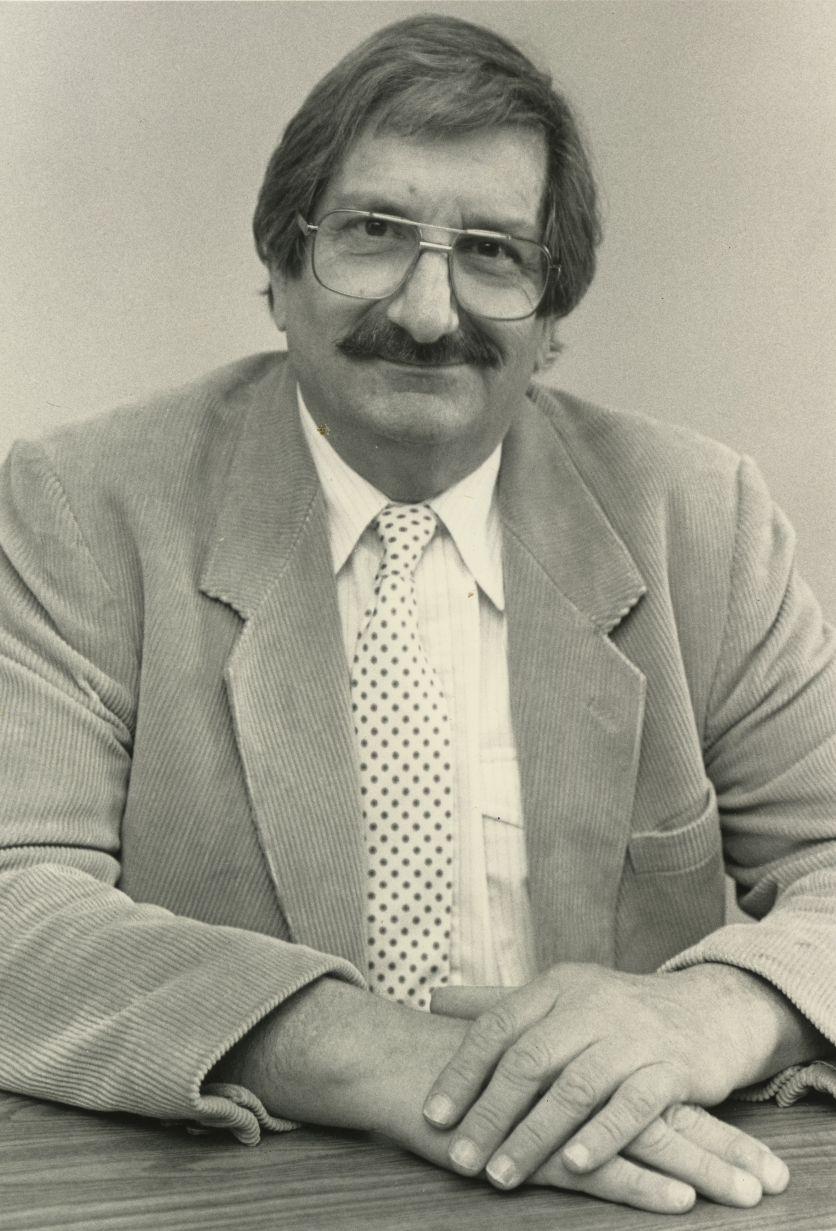 Portrait of Dr. Russell F. Smith, Medical Director of Greenbrook Recovery Center, 1988 image