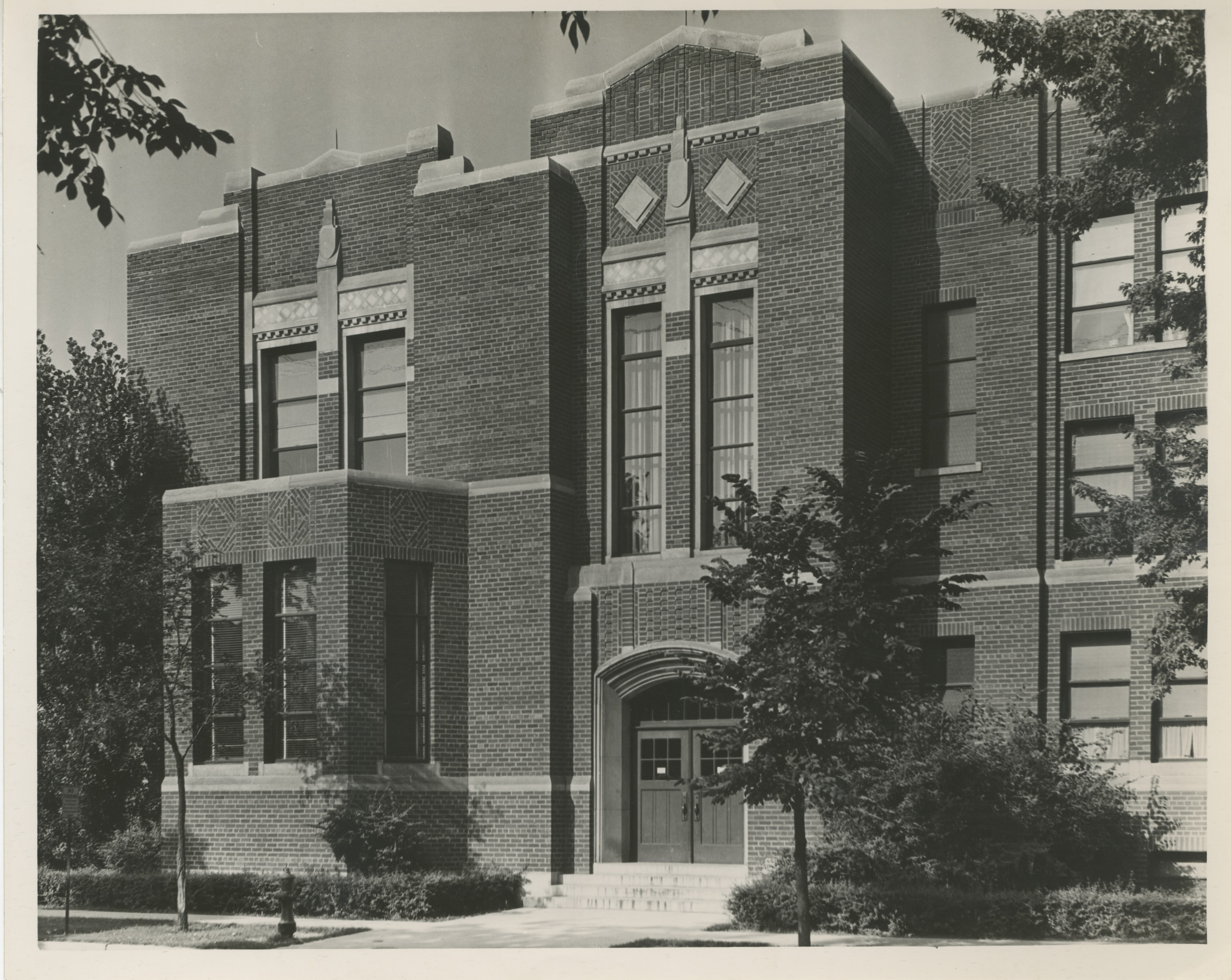 University Elementary School at the University of Michigan, 1937 image