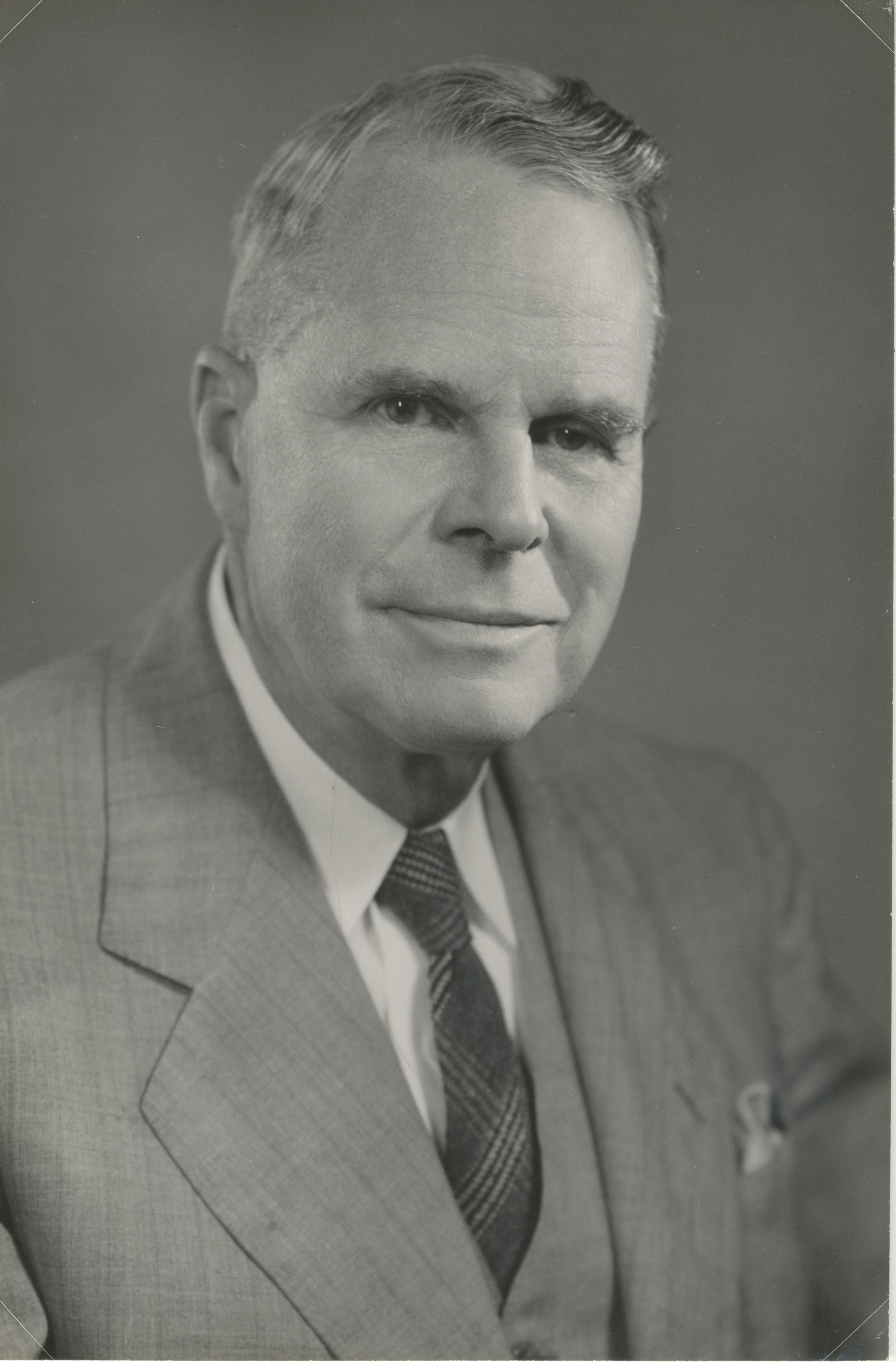 University of Michigan Professor Hobart H. Willard, Fluorine Pioneer, Undated image