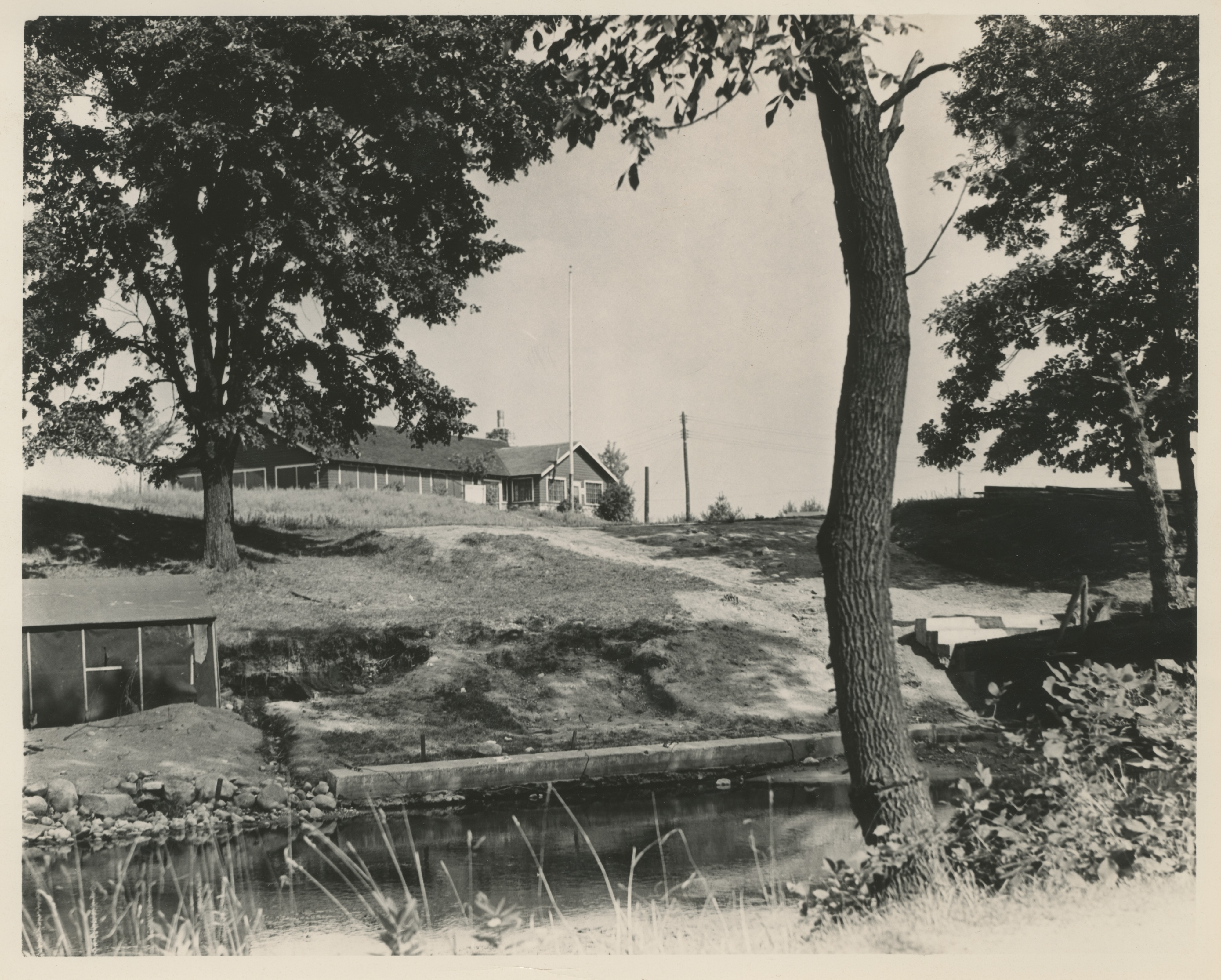 Boy Scout Camp Newkirk at Dexter, August 1937 image