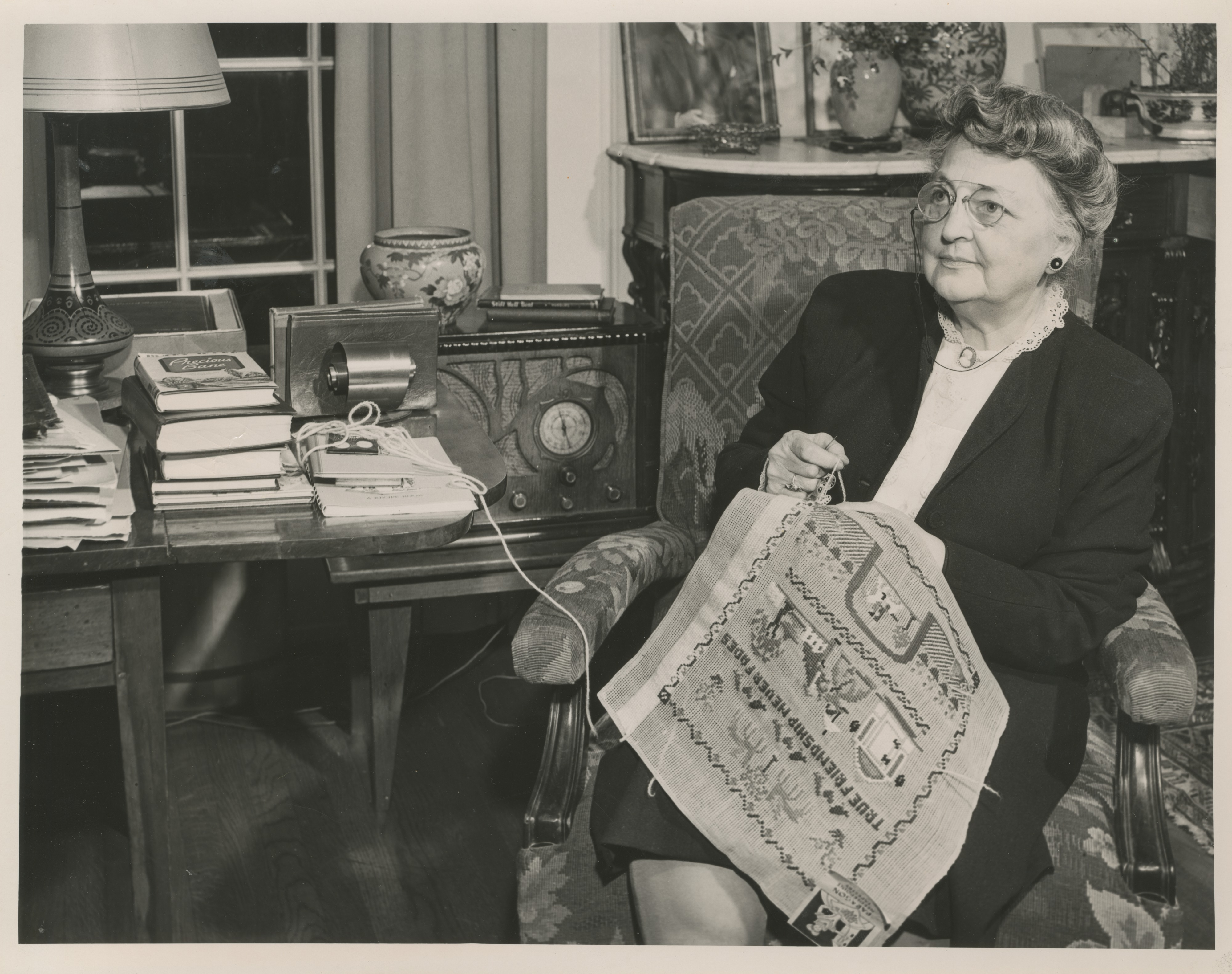 Eunice Fite Yost, 1949 image