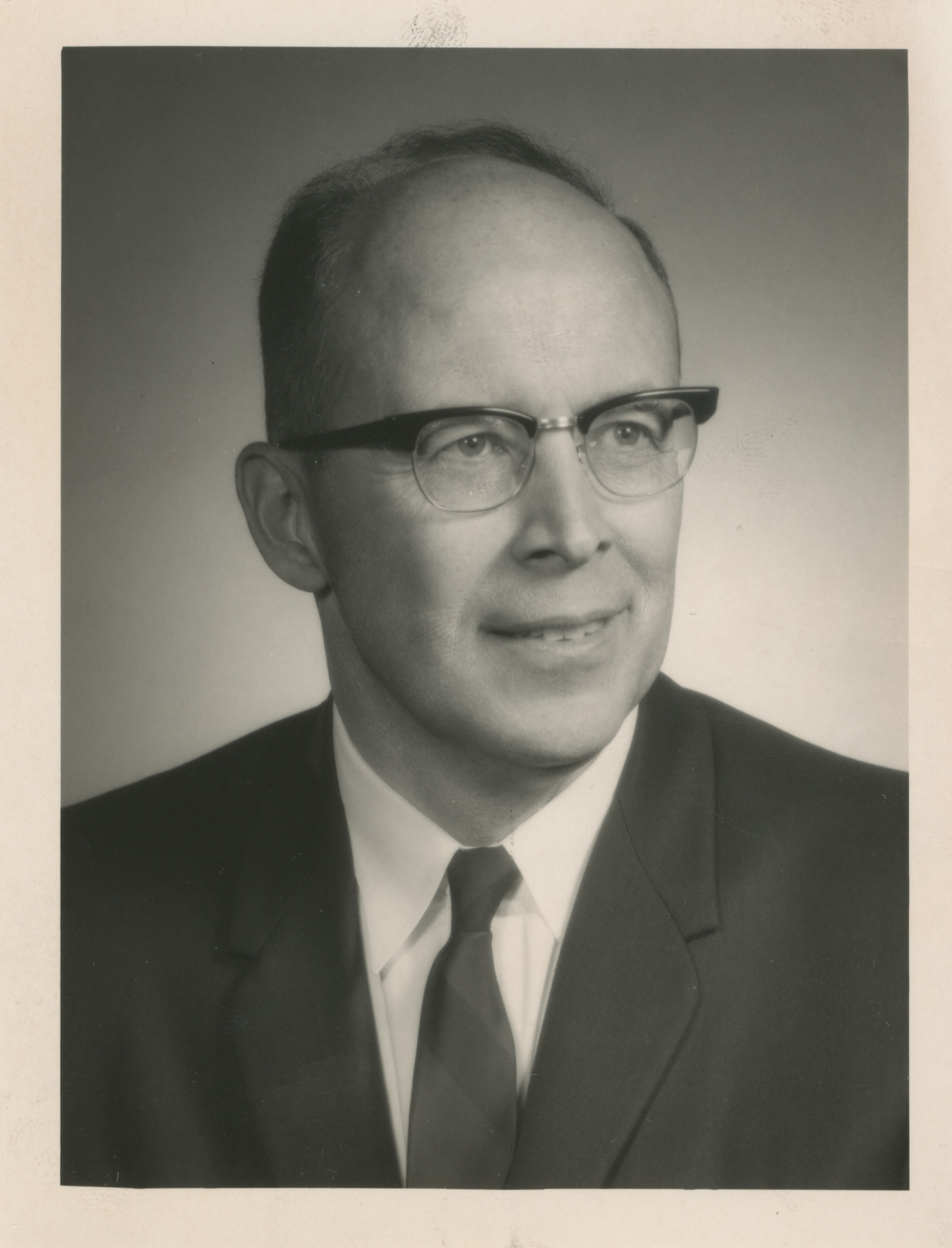 University of Michigan Professor Edwin H. Young, 1968 image