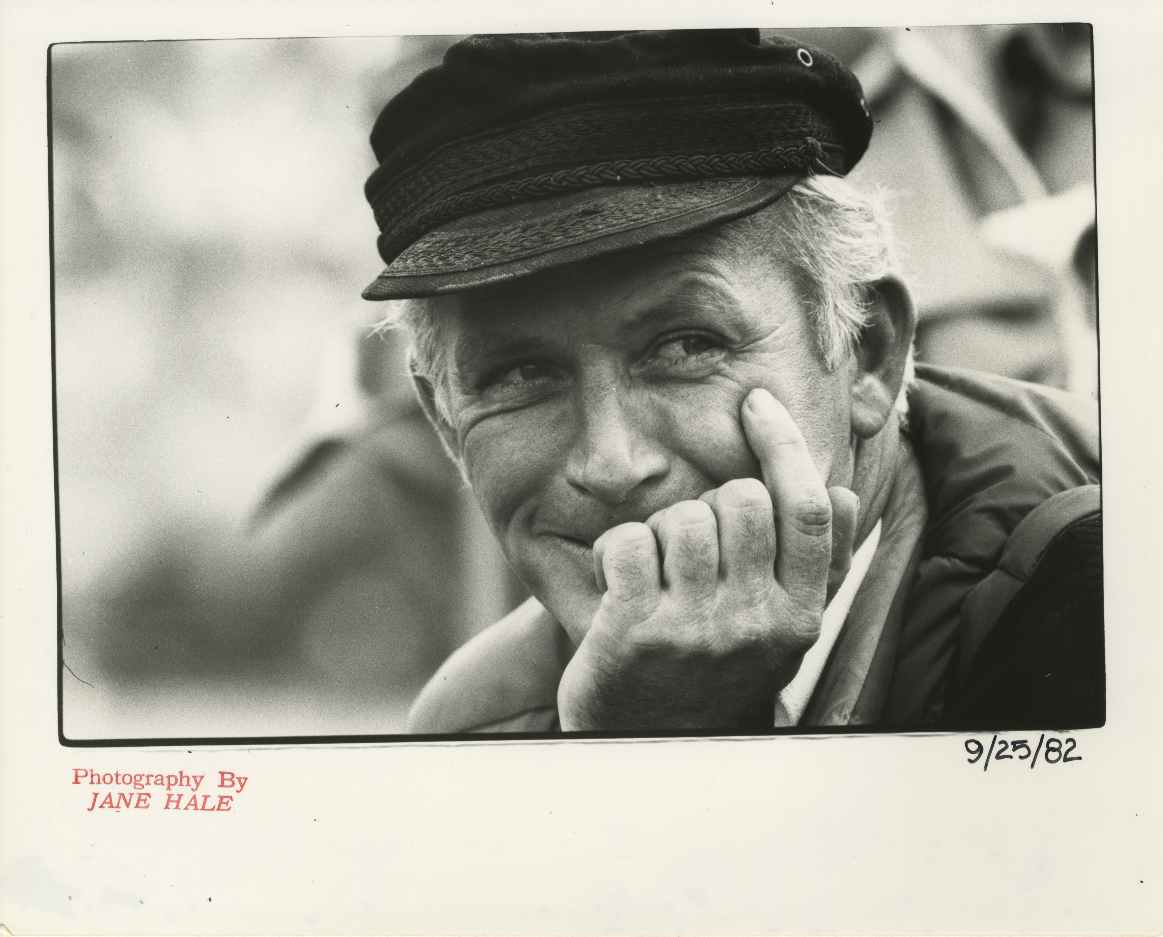 Ann Arbor News Photographer Jack Stubbs, September 1982 image