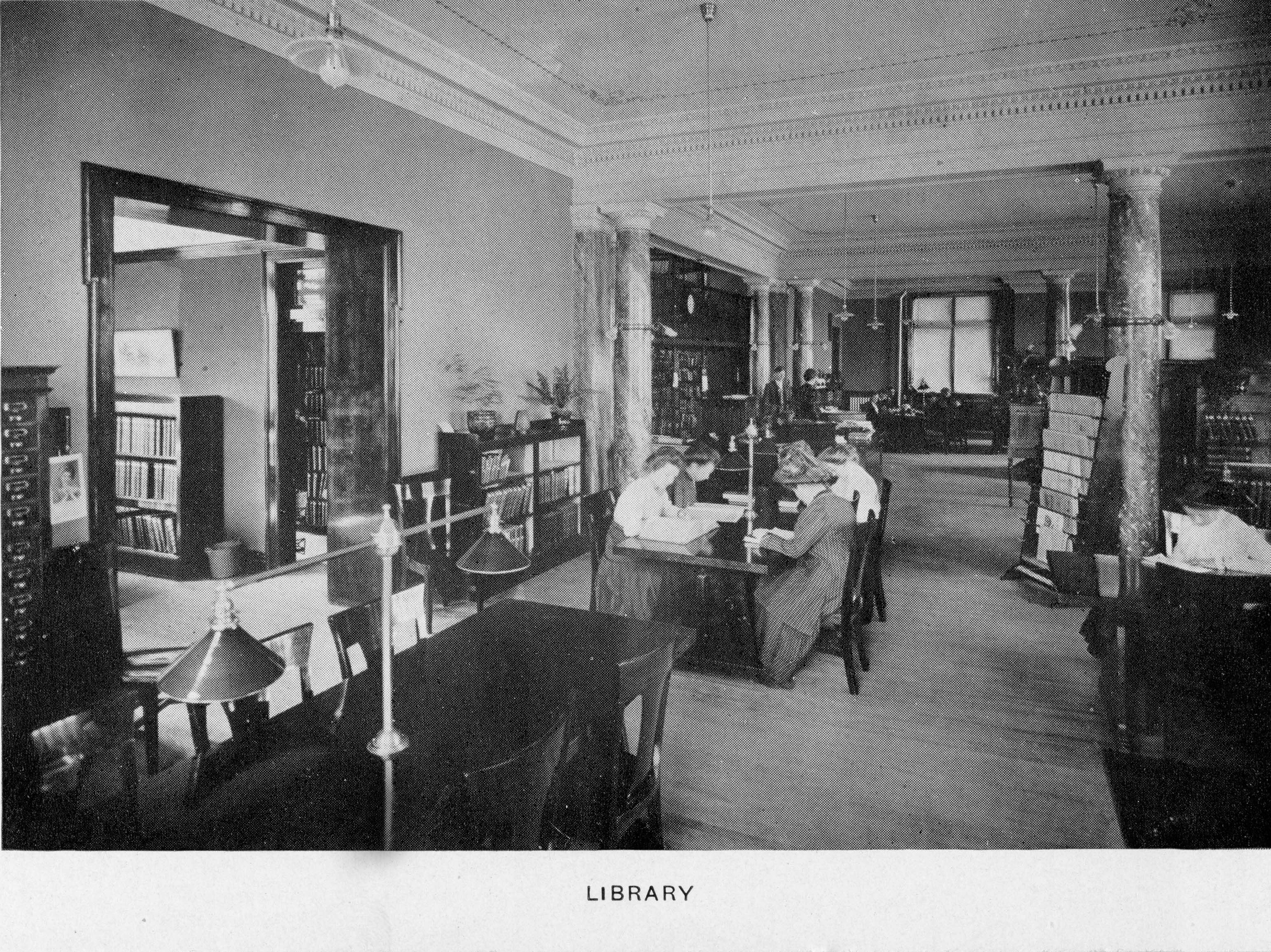 Carnegie Library Interior image